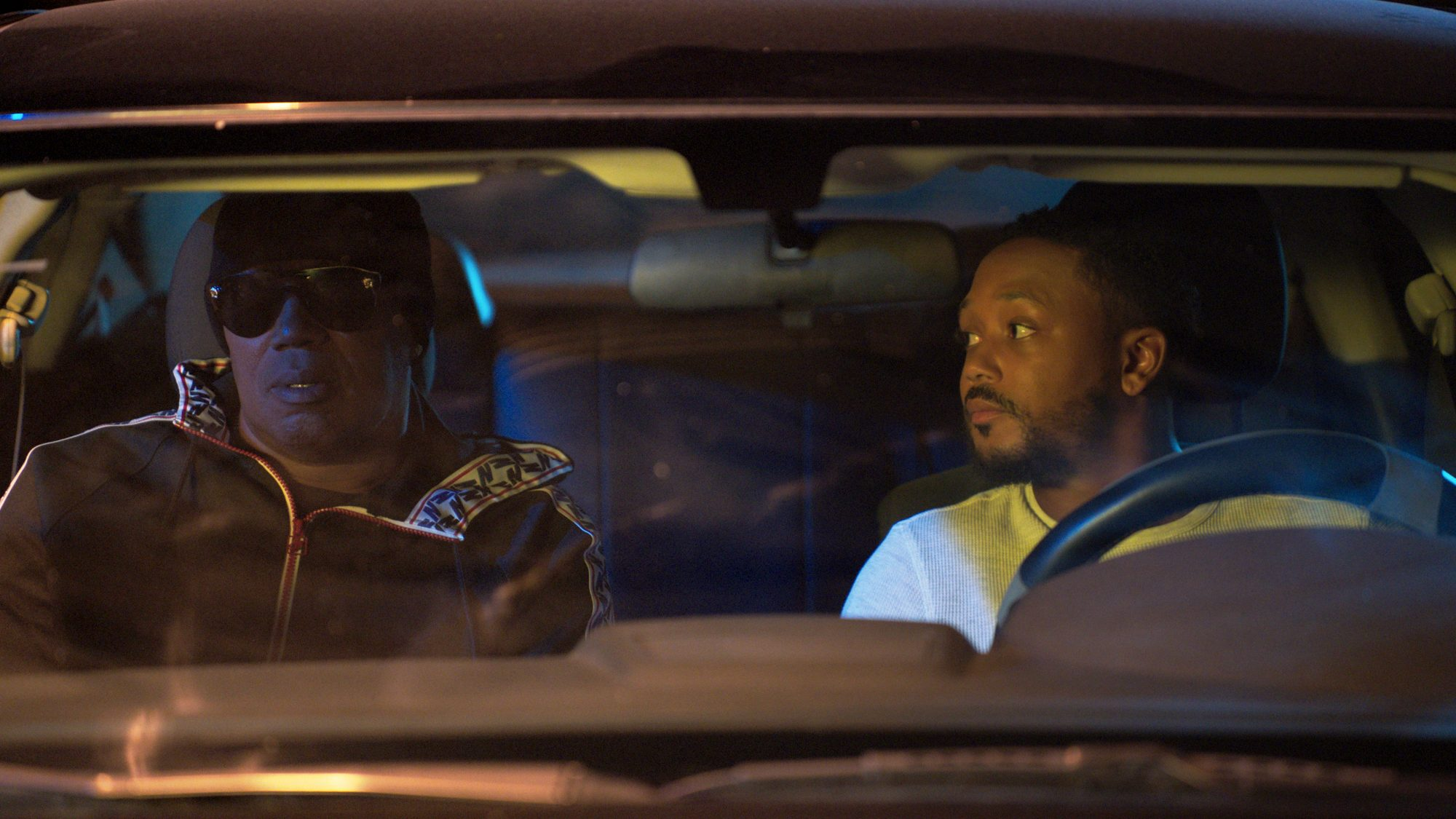 IGTHU2_Romeo Miller as Officer Johnny Miller, Master P as Black_Photo Credit, UMC (2)