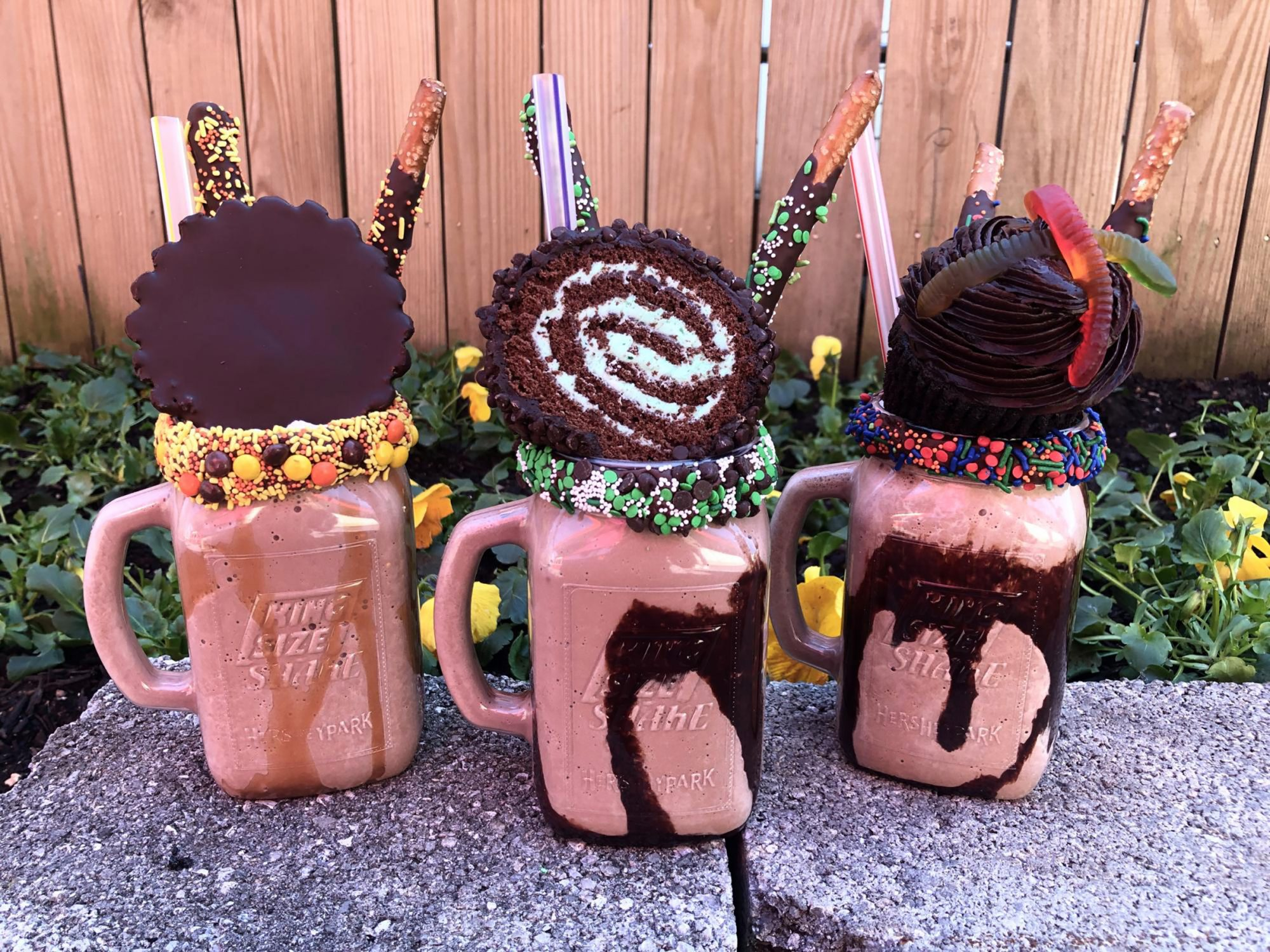 King Size Shakes from Hershey Park