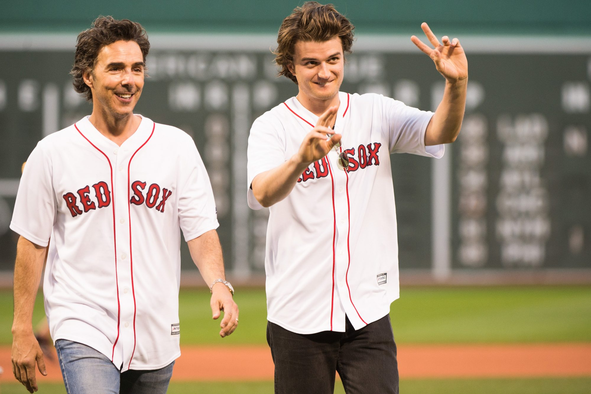 Shawn Levy and actor Joe Keery