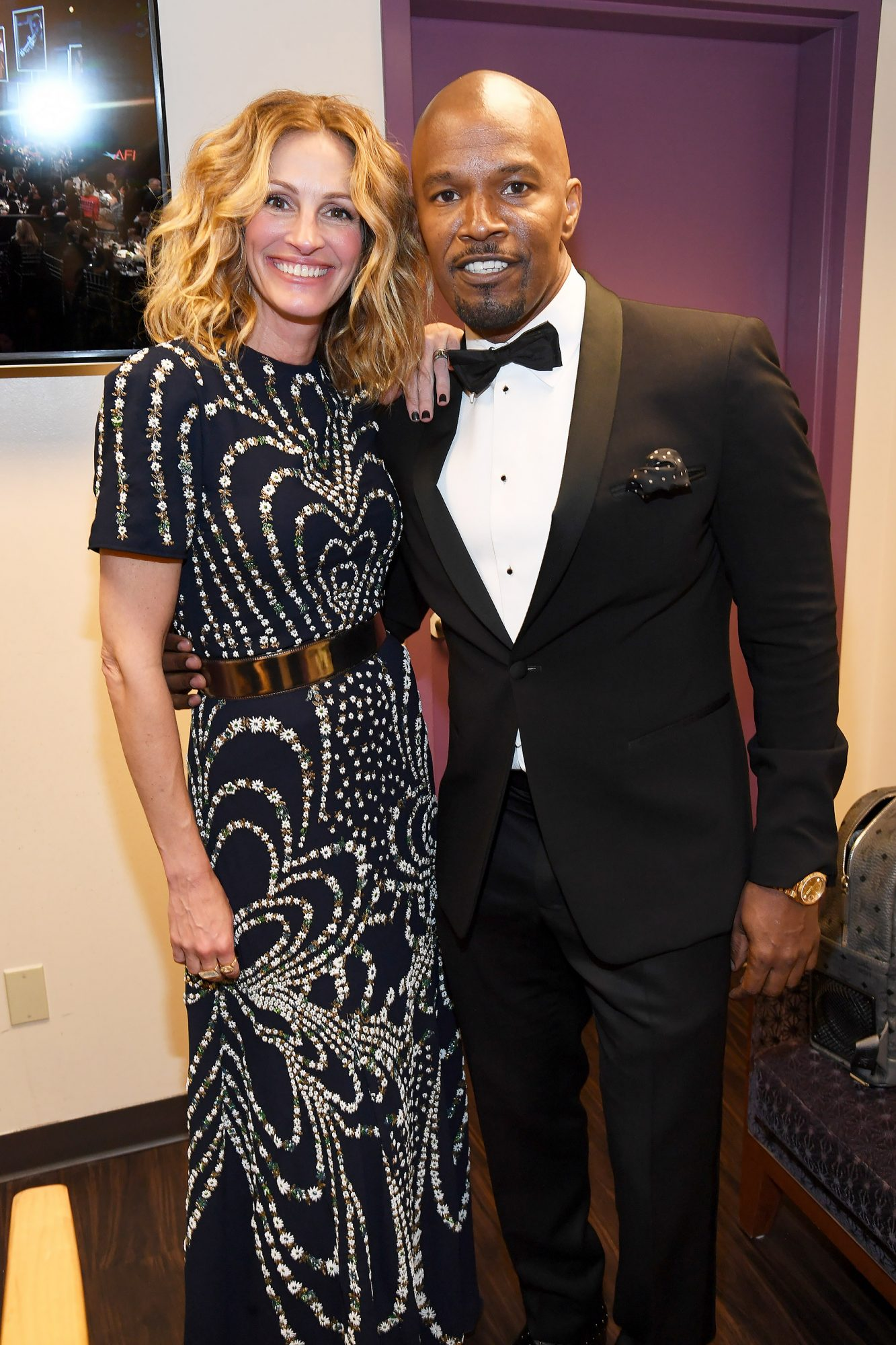Julia Roberts and Jamie Foxx