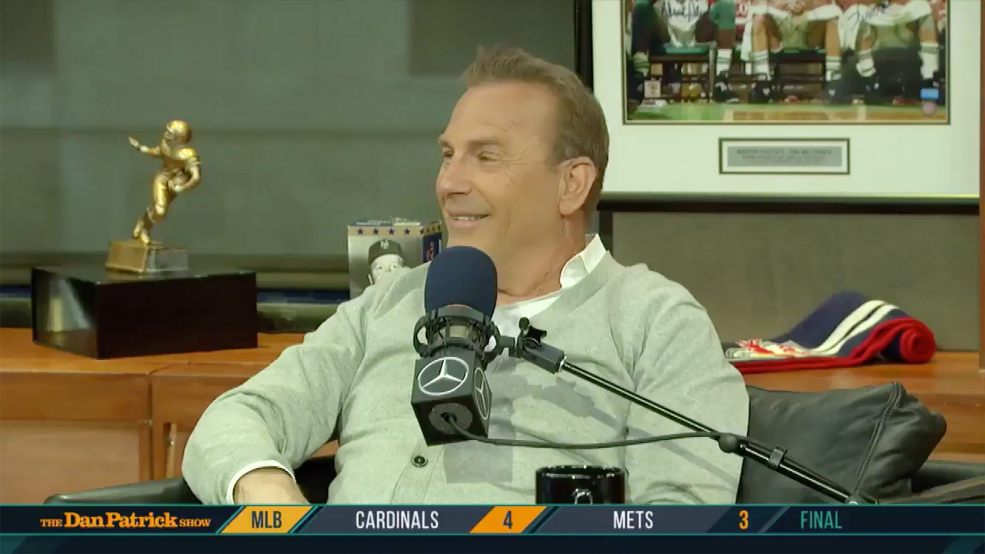 Kevin Costner drops an F-bomb on Paulie