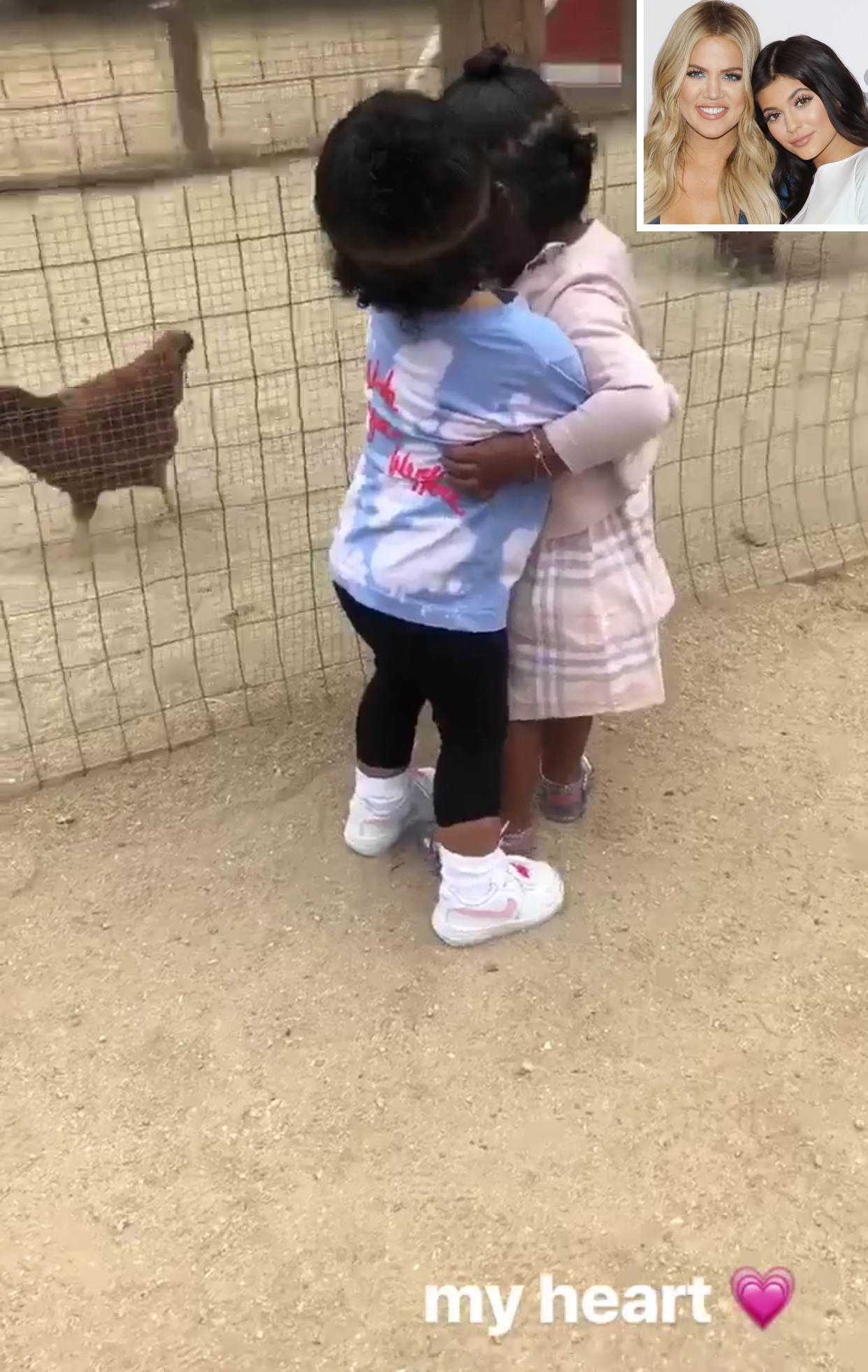 Kylie Jenner and Khloé Kardashian Share Sweet Footage of Cousins Stormi and True at a Farm
