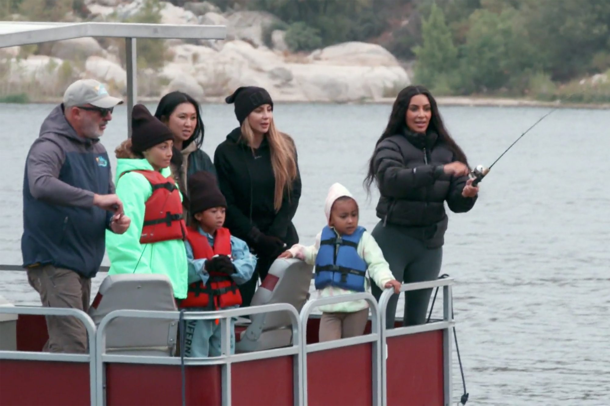 Kim takes North Camping ( Keeping up with the Kardashians)