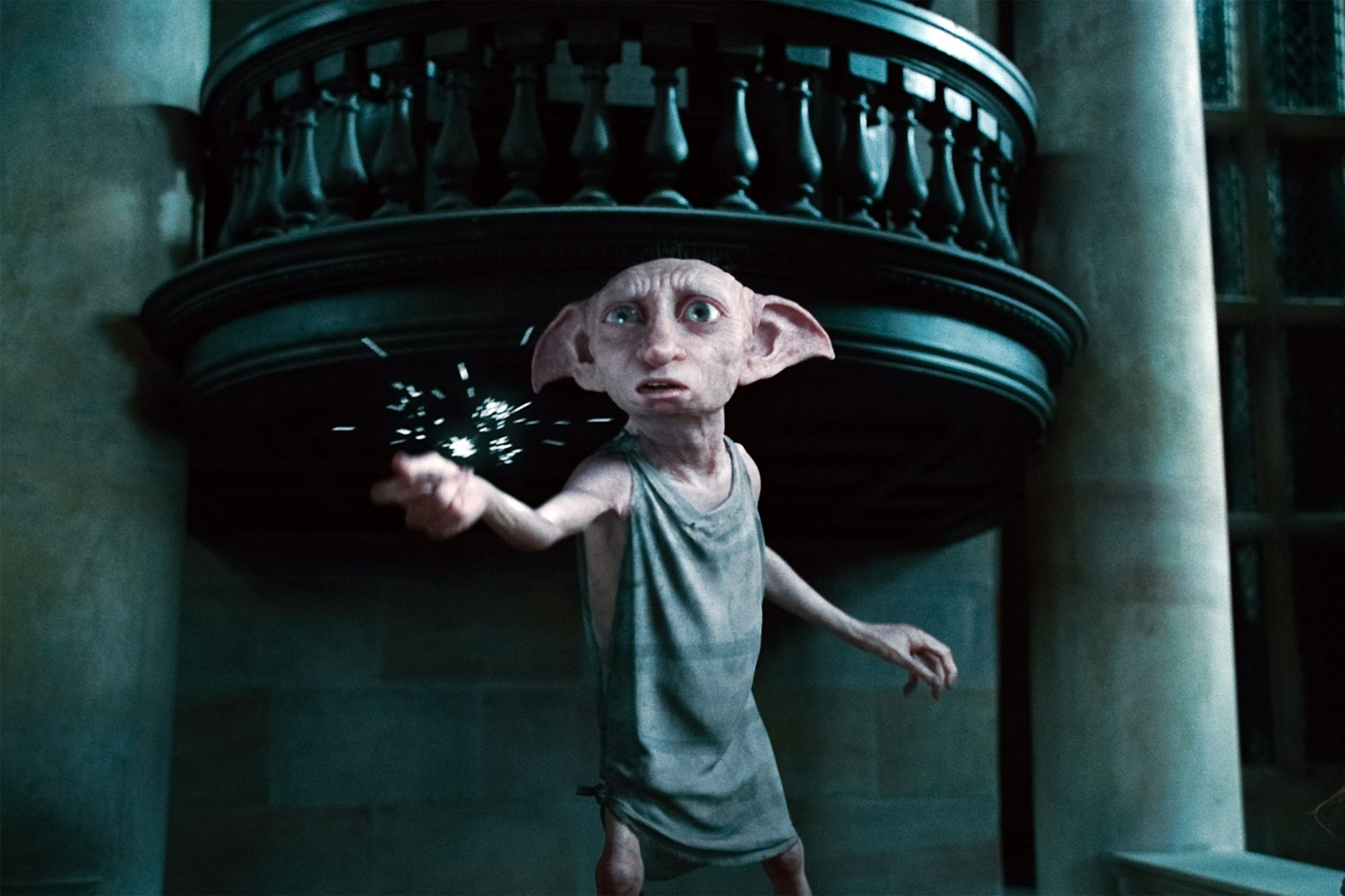 HARRY POTTER AND THE DEATHLY HALLOWS: PART 1, Dobby (voice: Toby Jones), 2010. ©2010 Warner Bros. En