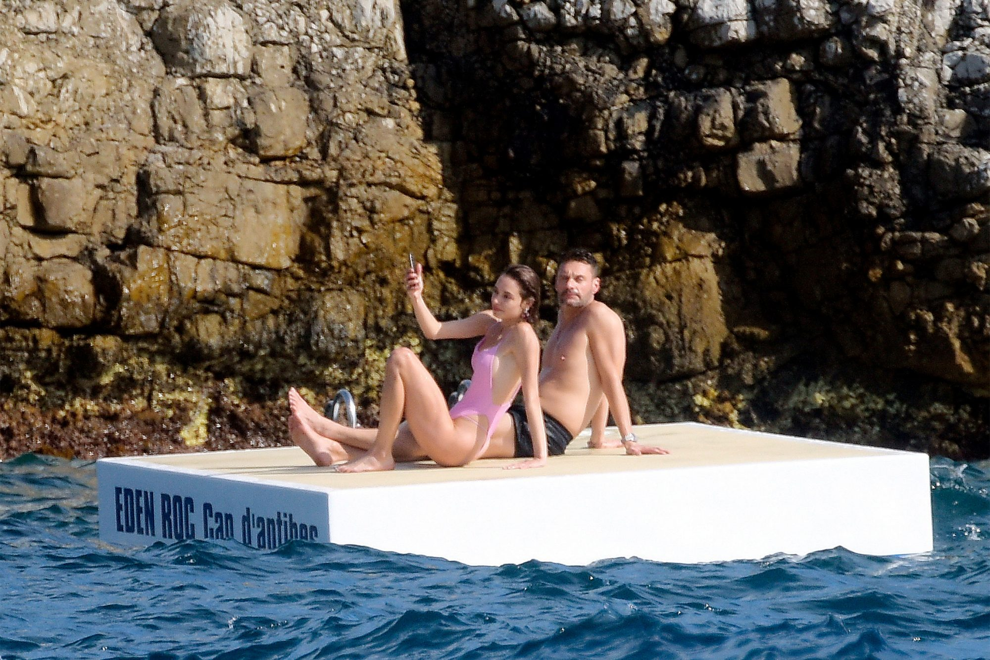 Ryan Seacrest and his new girlfriend in the south of France