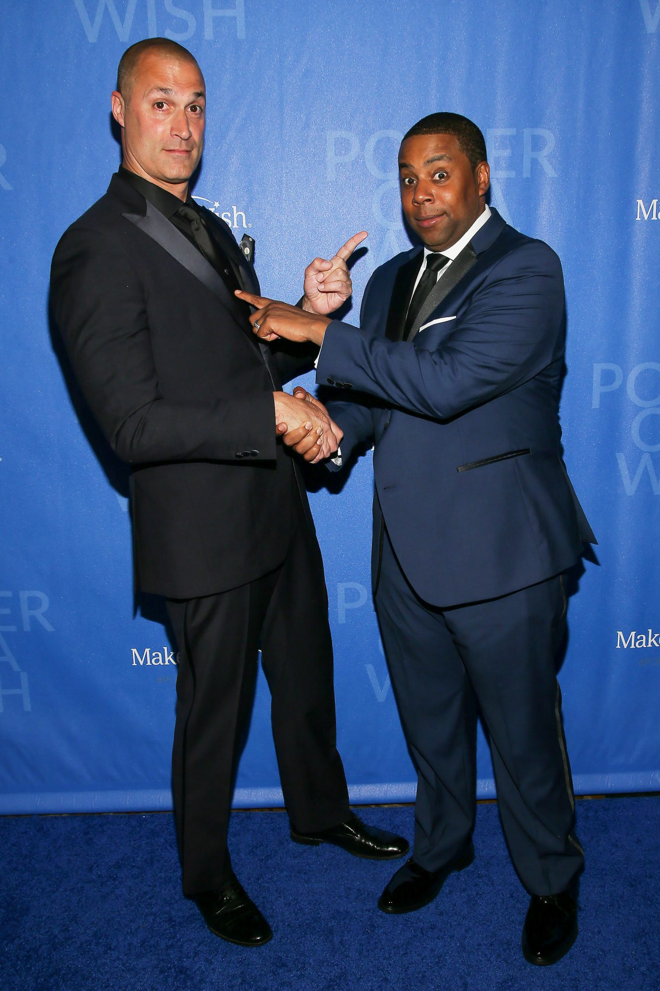 Nigel Barker Kenan Thompson