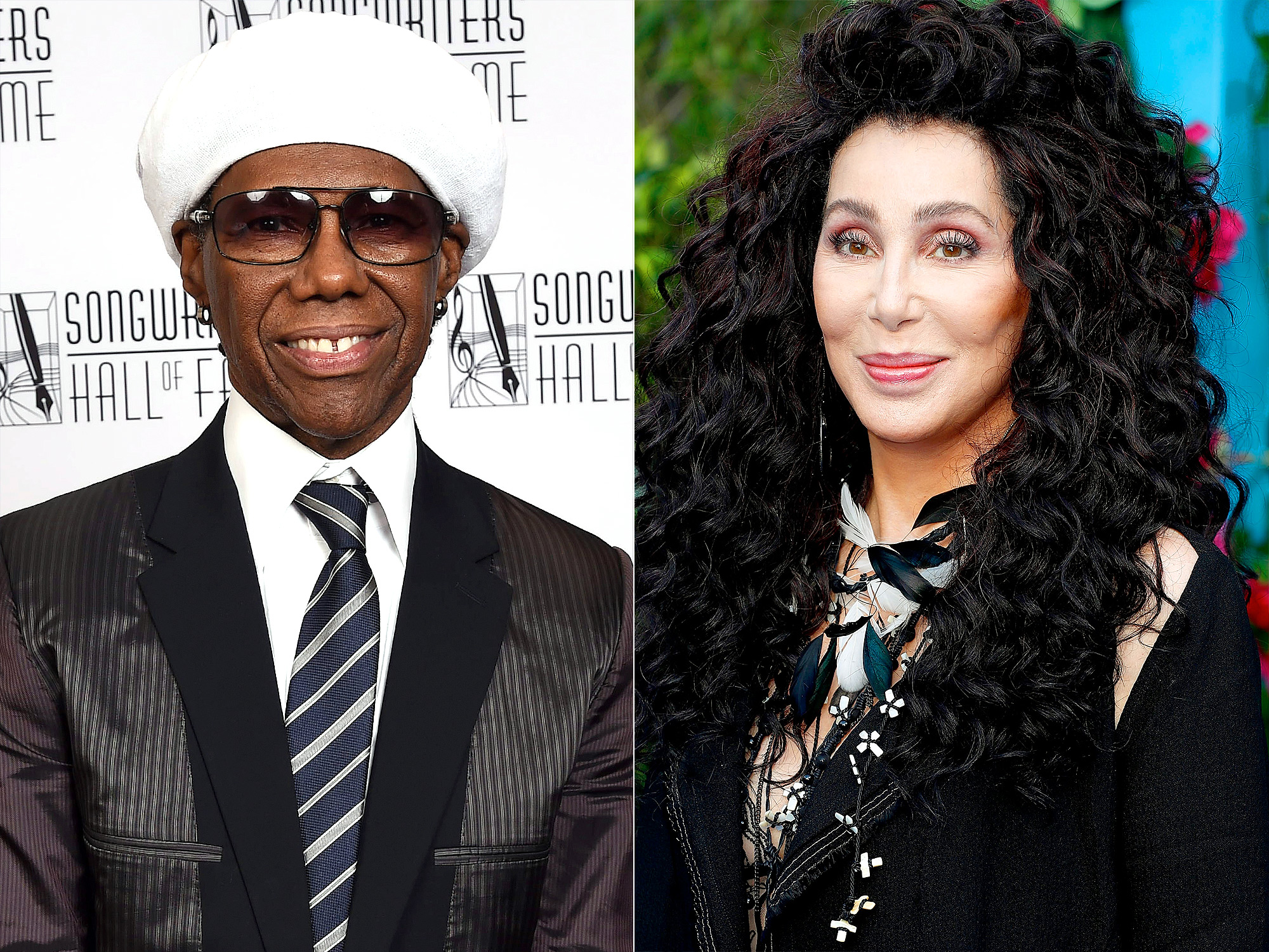 Nile Rodgers and Cher