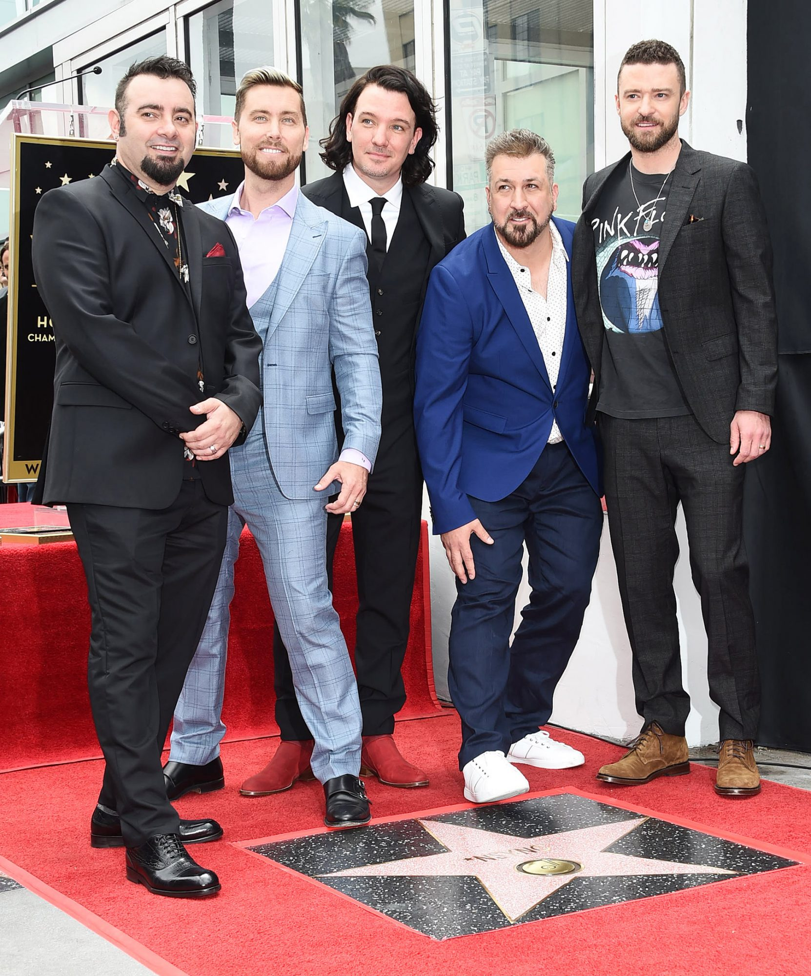 NSYNC Honored With Star on Hollywood Walk of Fame