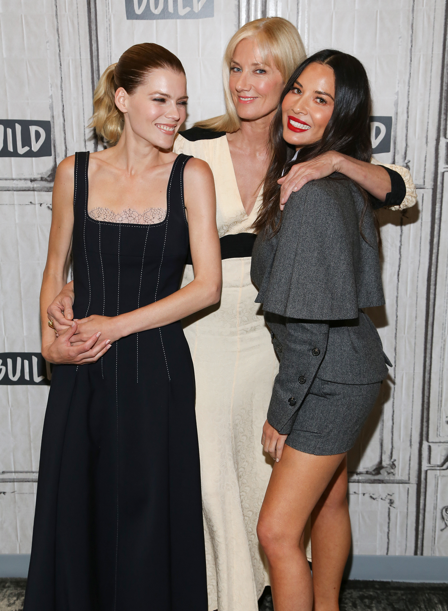 Emma Greenwell, Joely Richardson and Olivia Munn