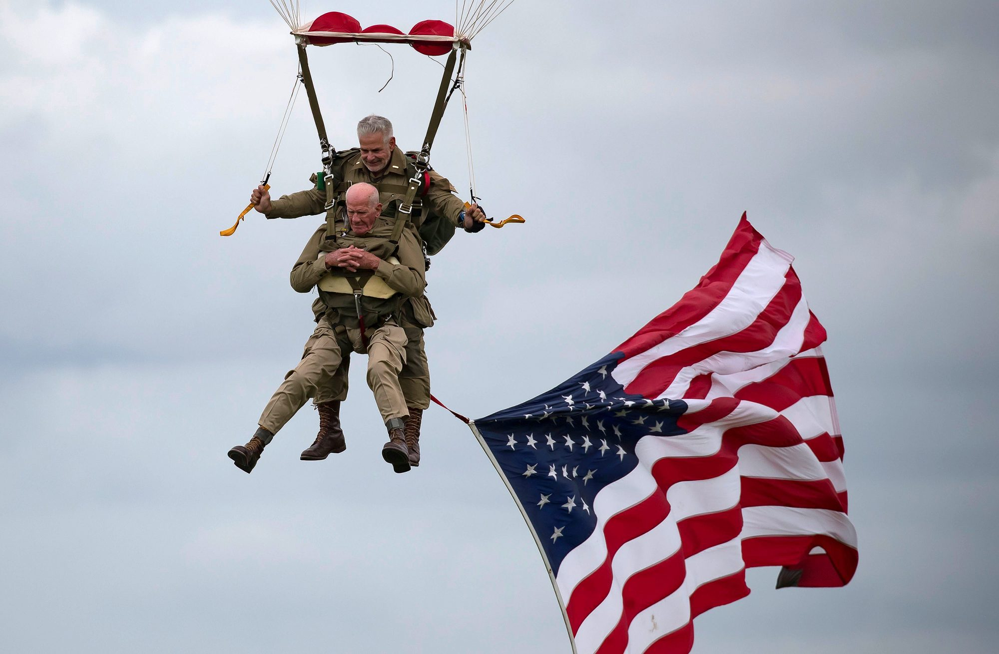 D Day paratrooper