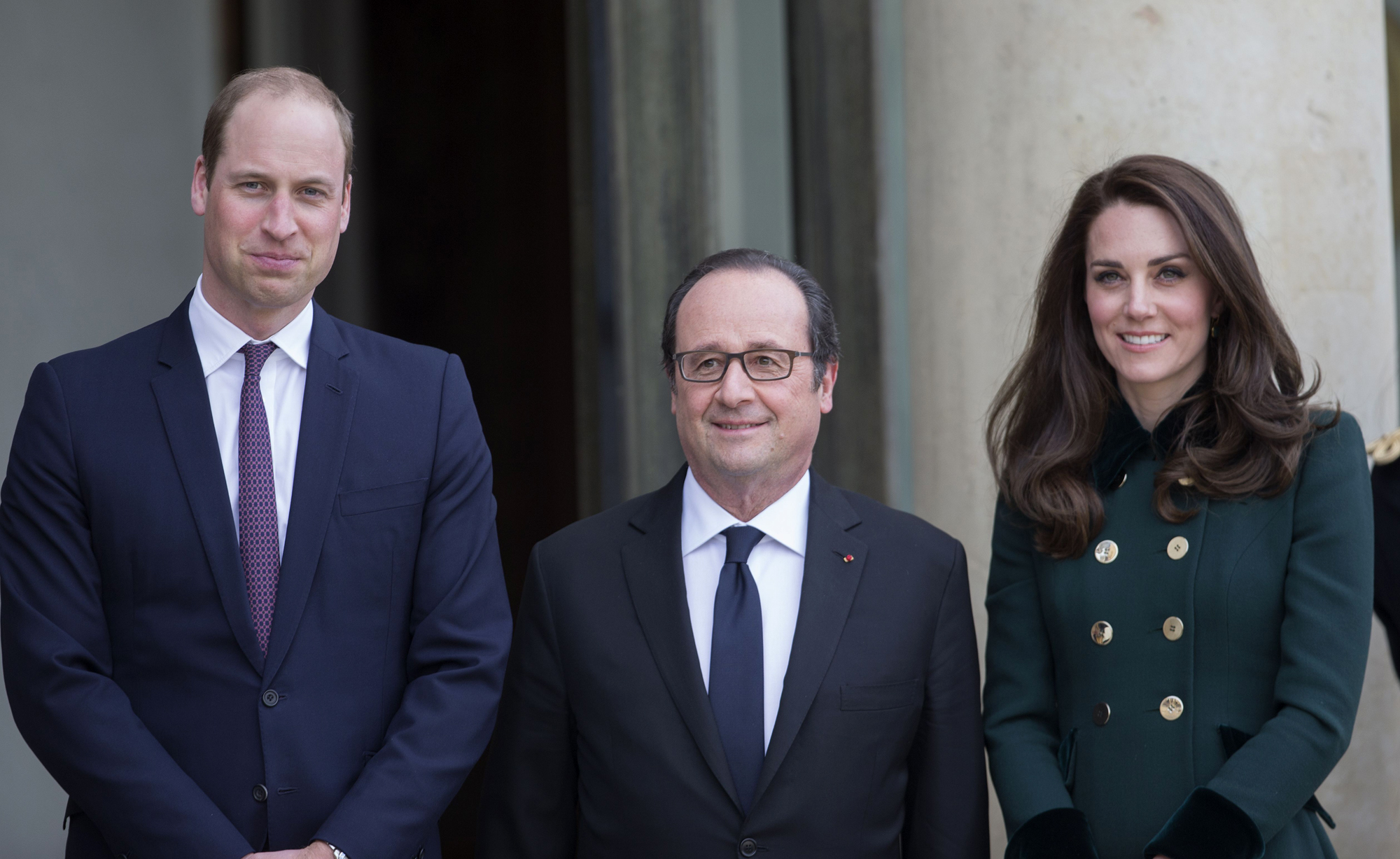 Prince William and Catherine Duchess of Cambridge visit to Paris, France - 17 Mar 2017
