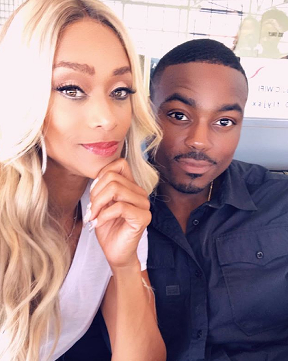 Reggie Youngblood and Tami Roman