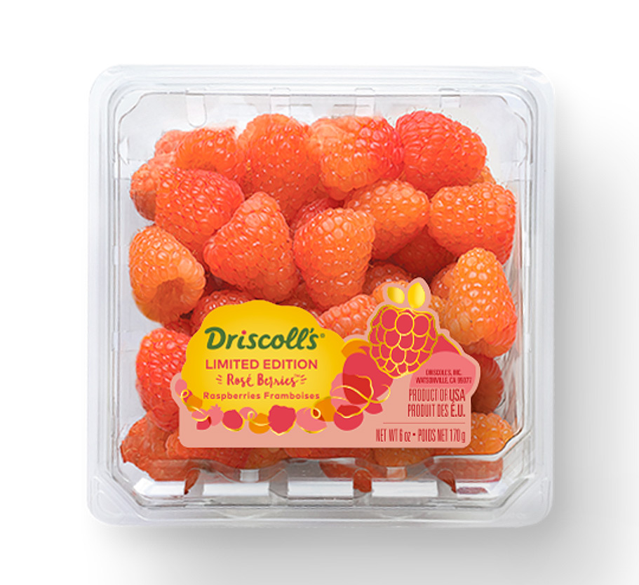 Driscoll's Rosé Strawberries and Raspberries