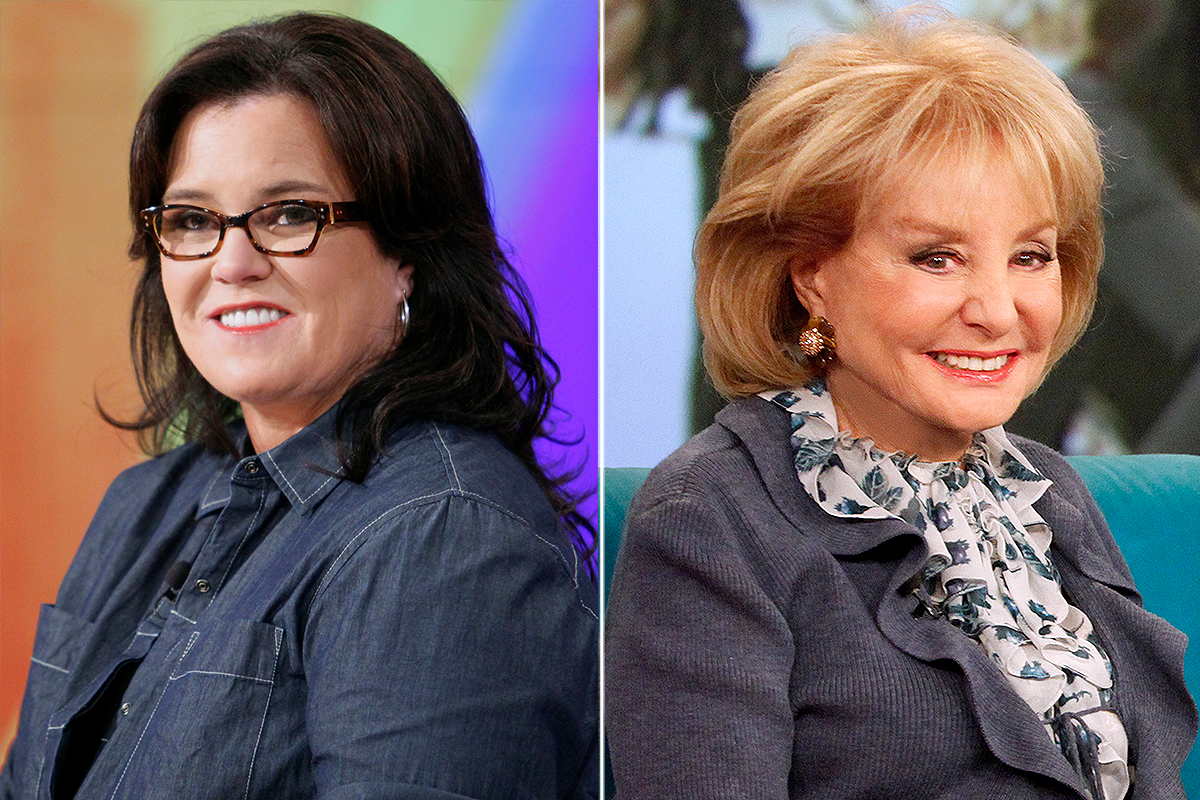 GALLERY: The View Feuds Rosie O'Donnell and Barbara Walters