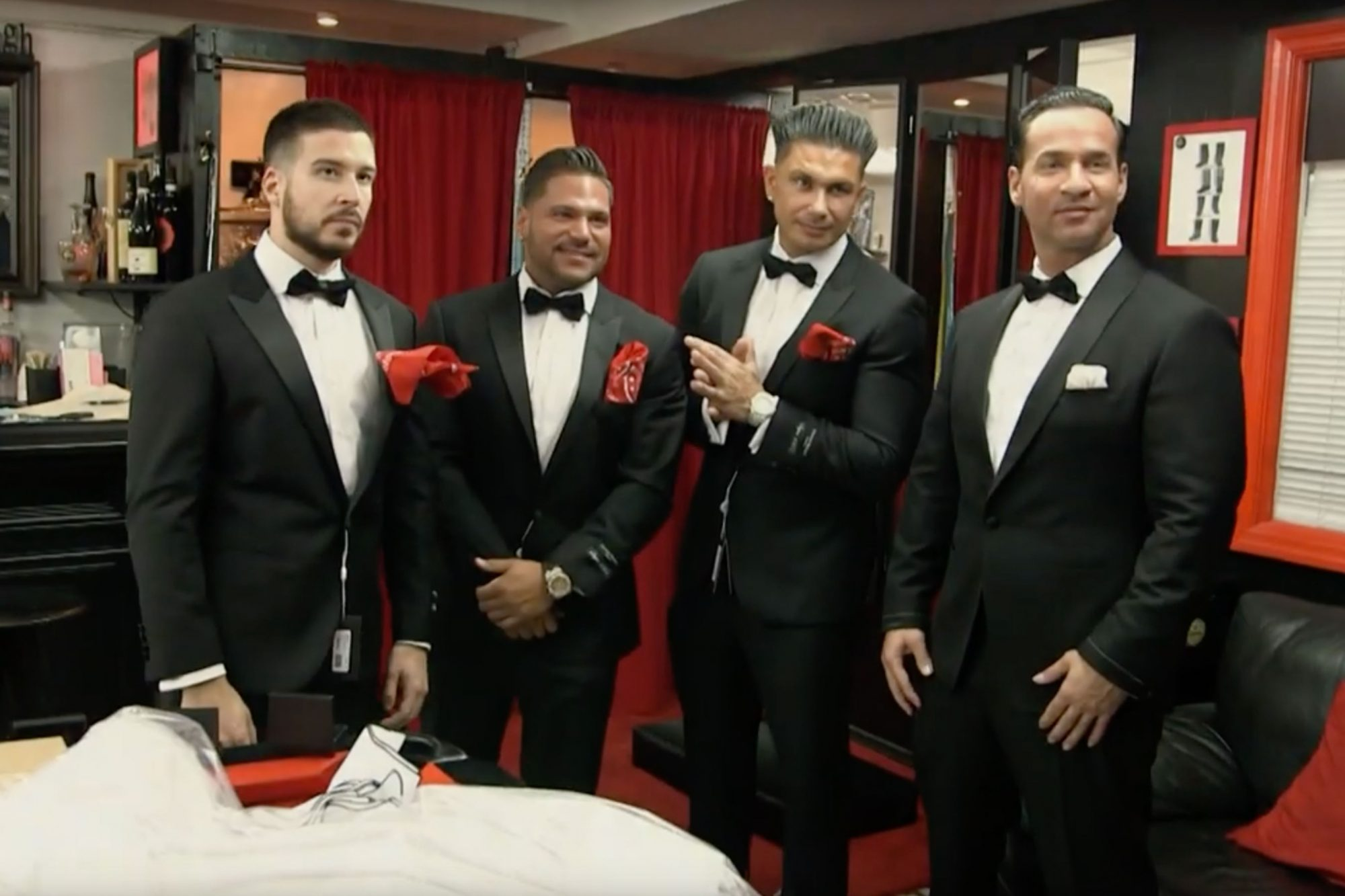 "Mike "" the Situation"" - Jersey shore wedding"