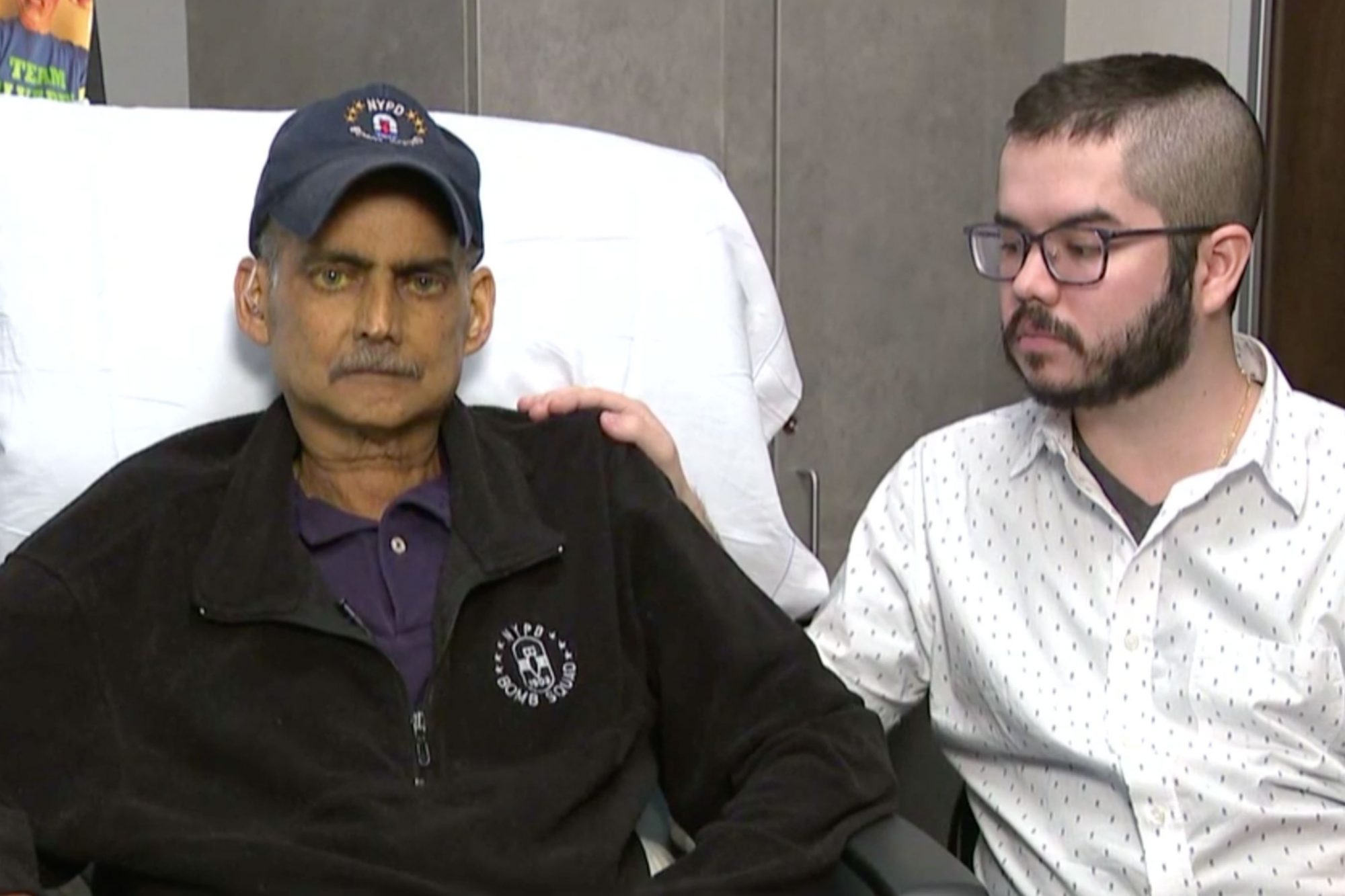9/11 first responder gives final interview from hospice/ Luis Alvarez