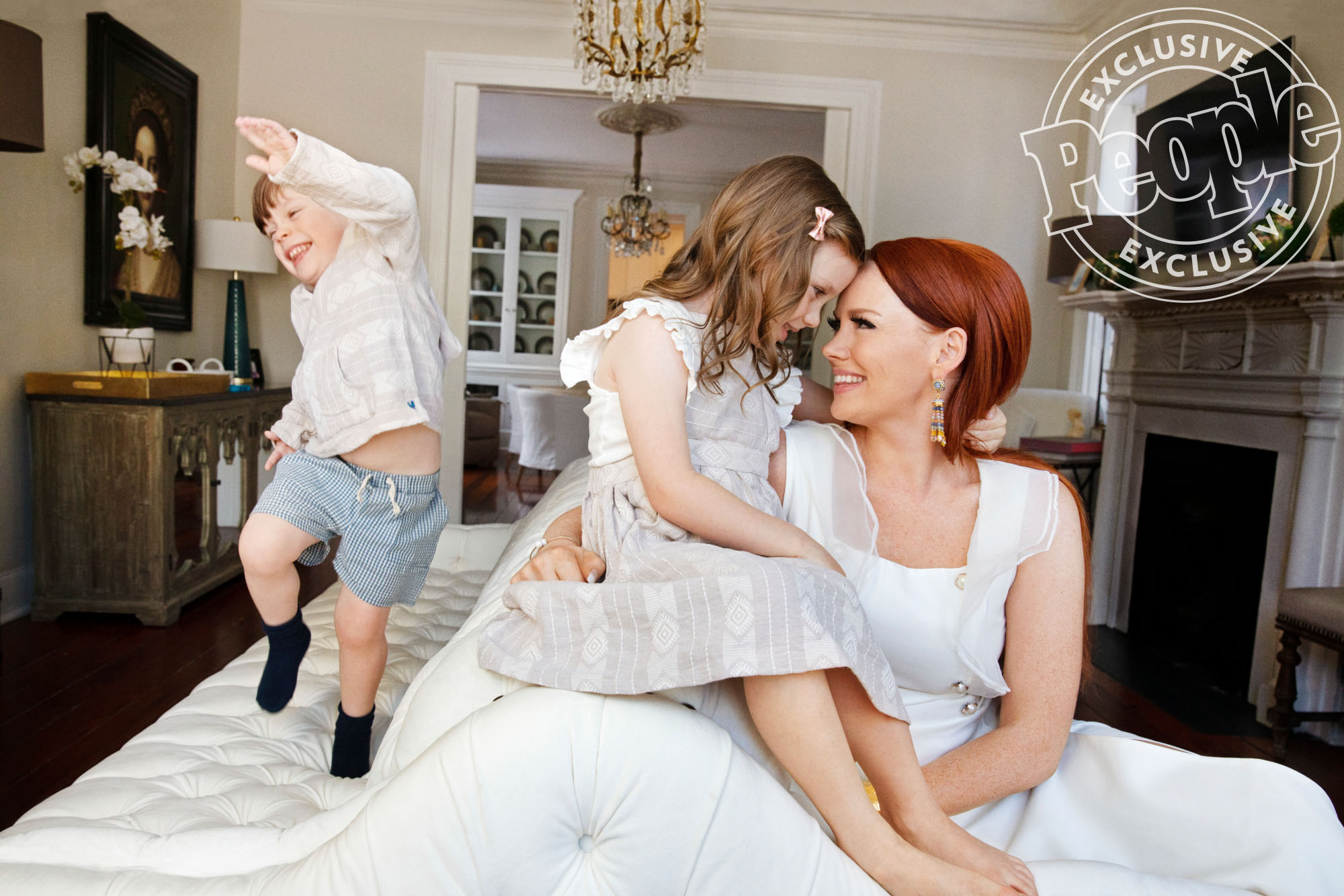 Kathryn Dennis with kids Saint and Kensie