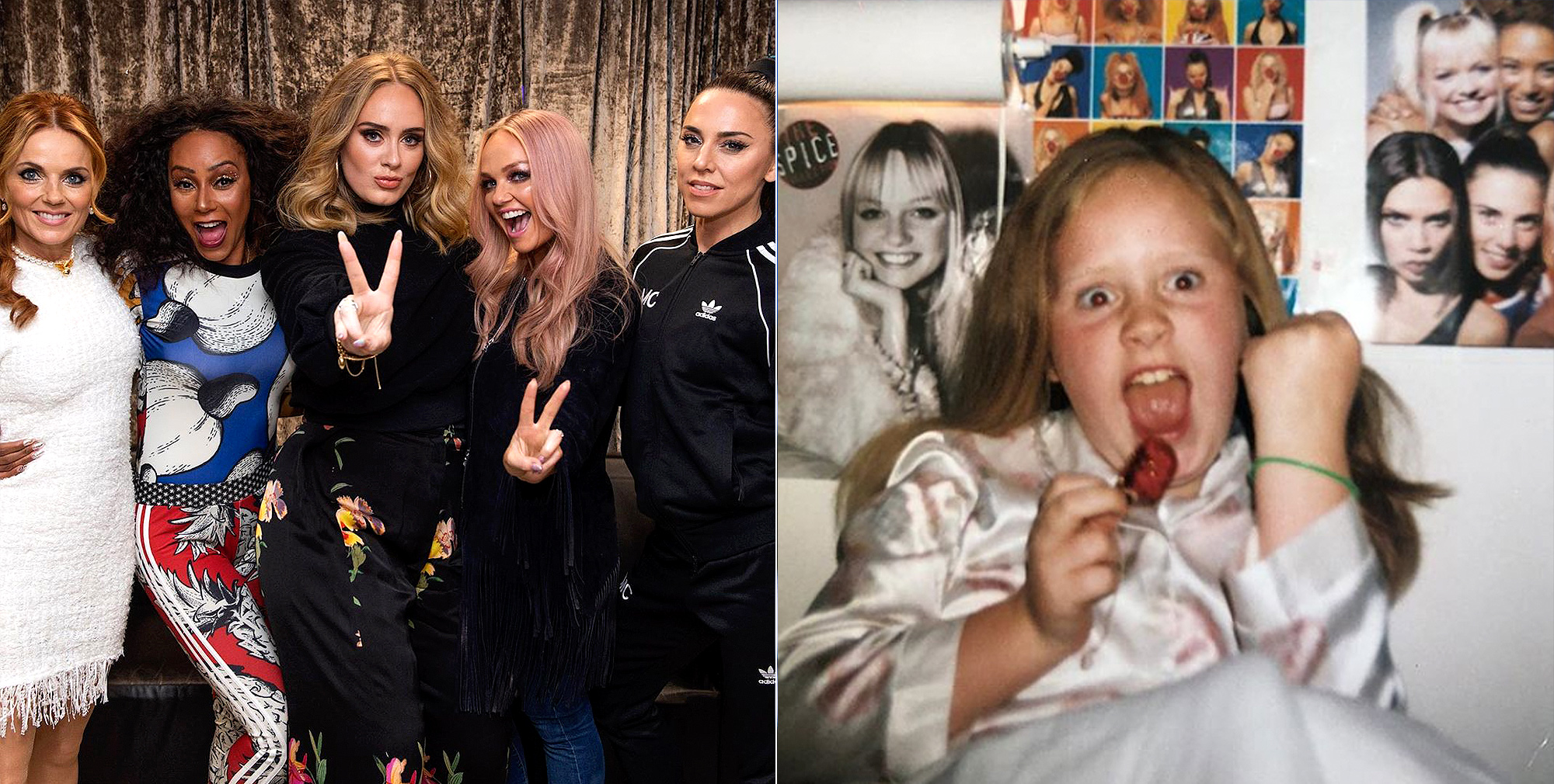 Spice Girls and Adele