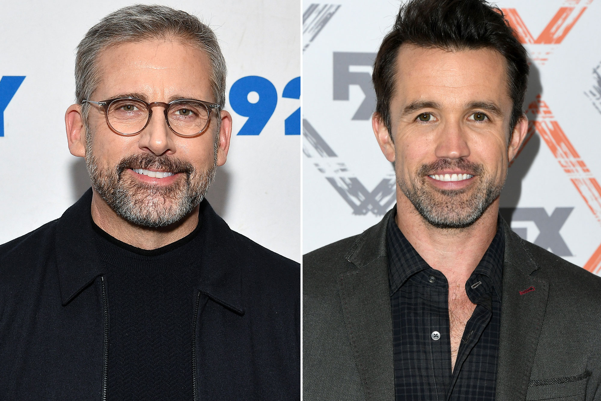 Steve Carell and Rob McElhenney