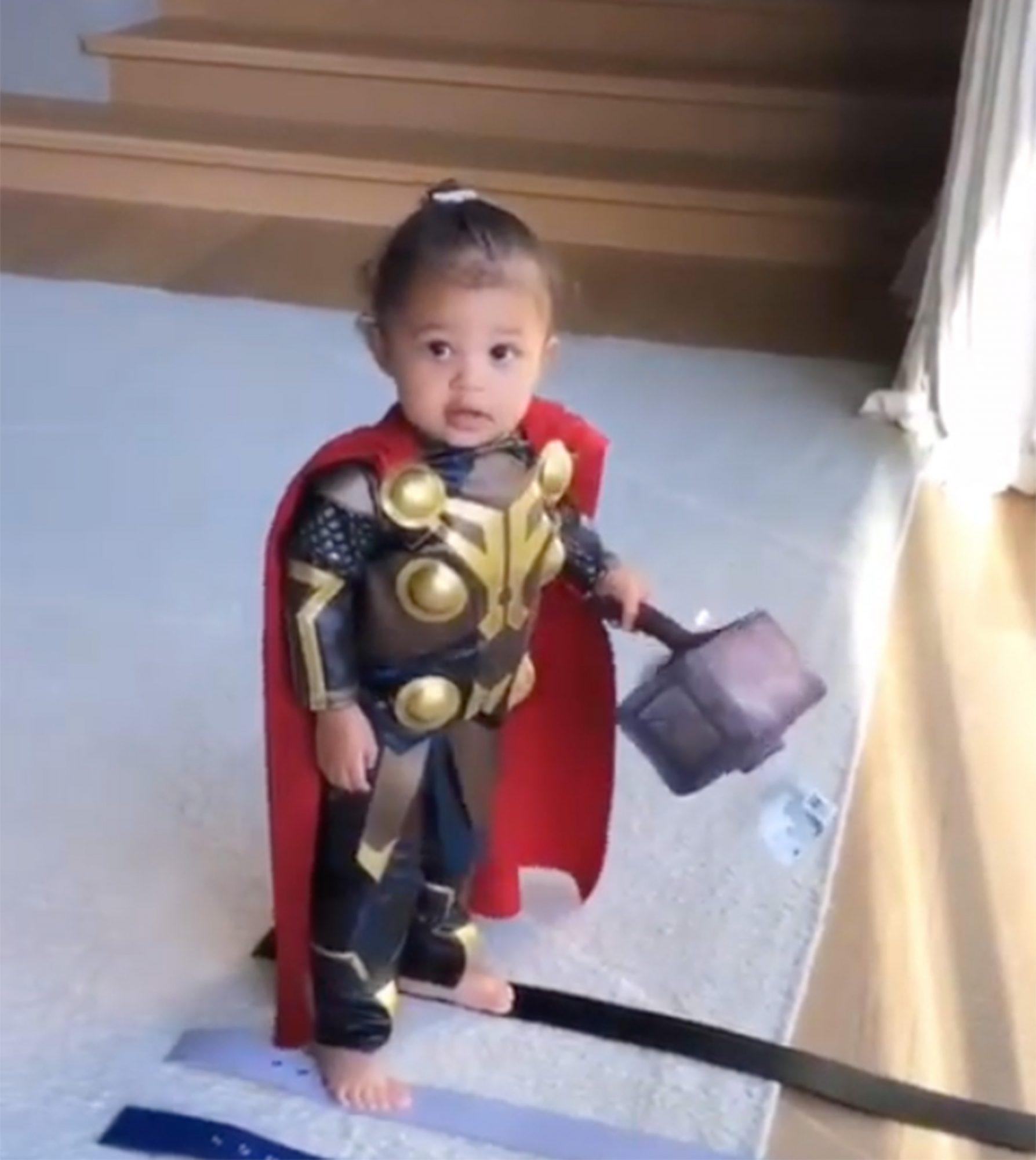 Stormi Webster as Thor