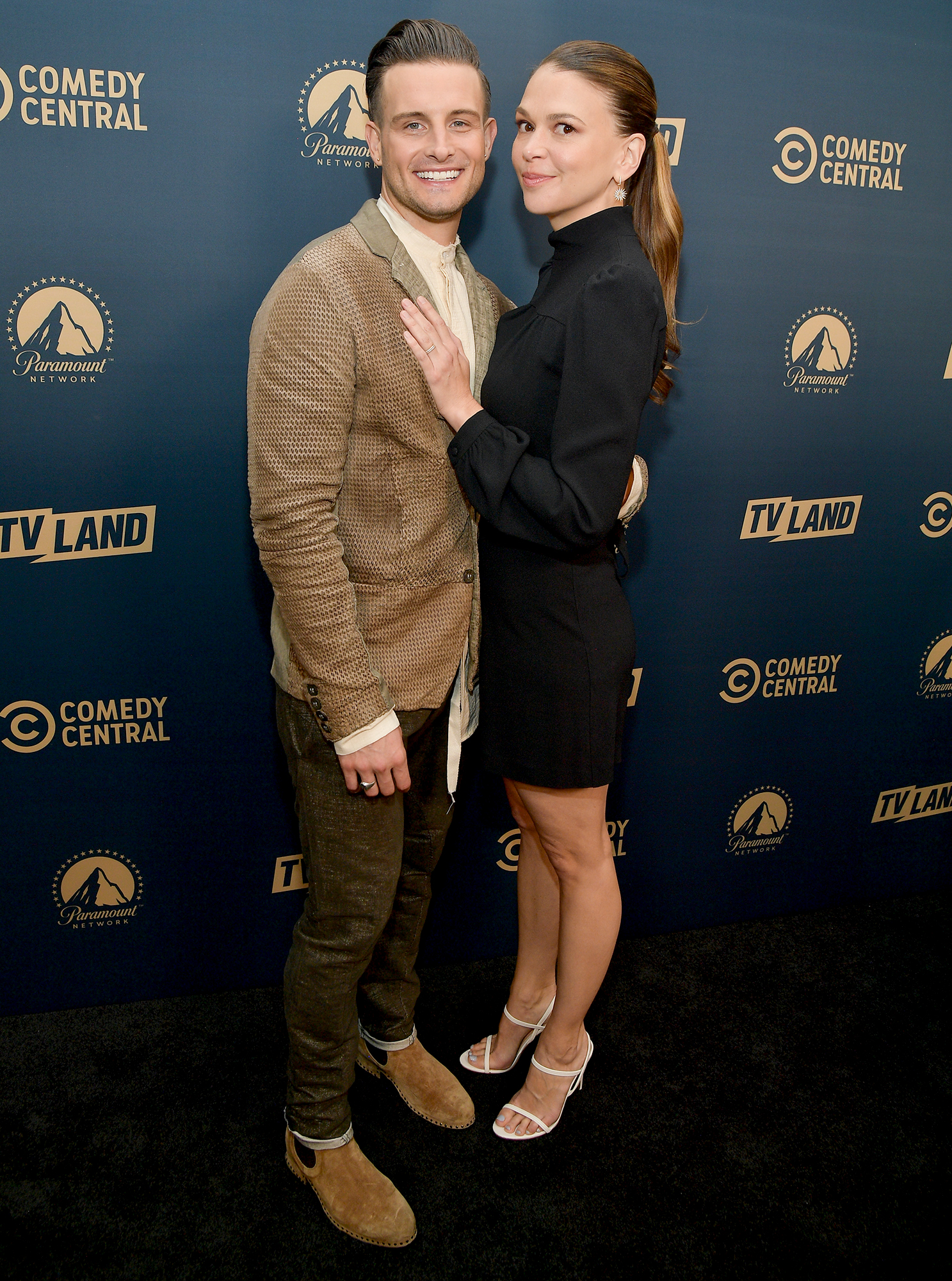 Nico Tortorella and Sutton Foster