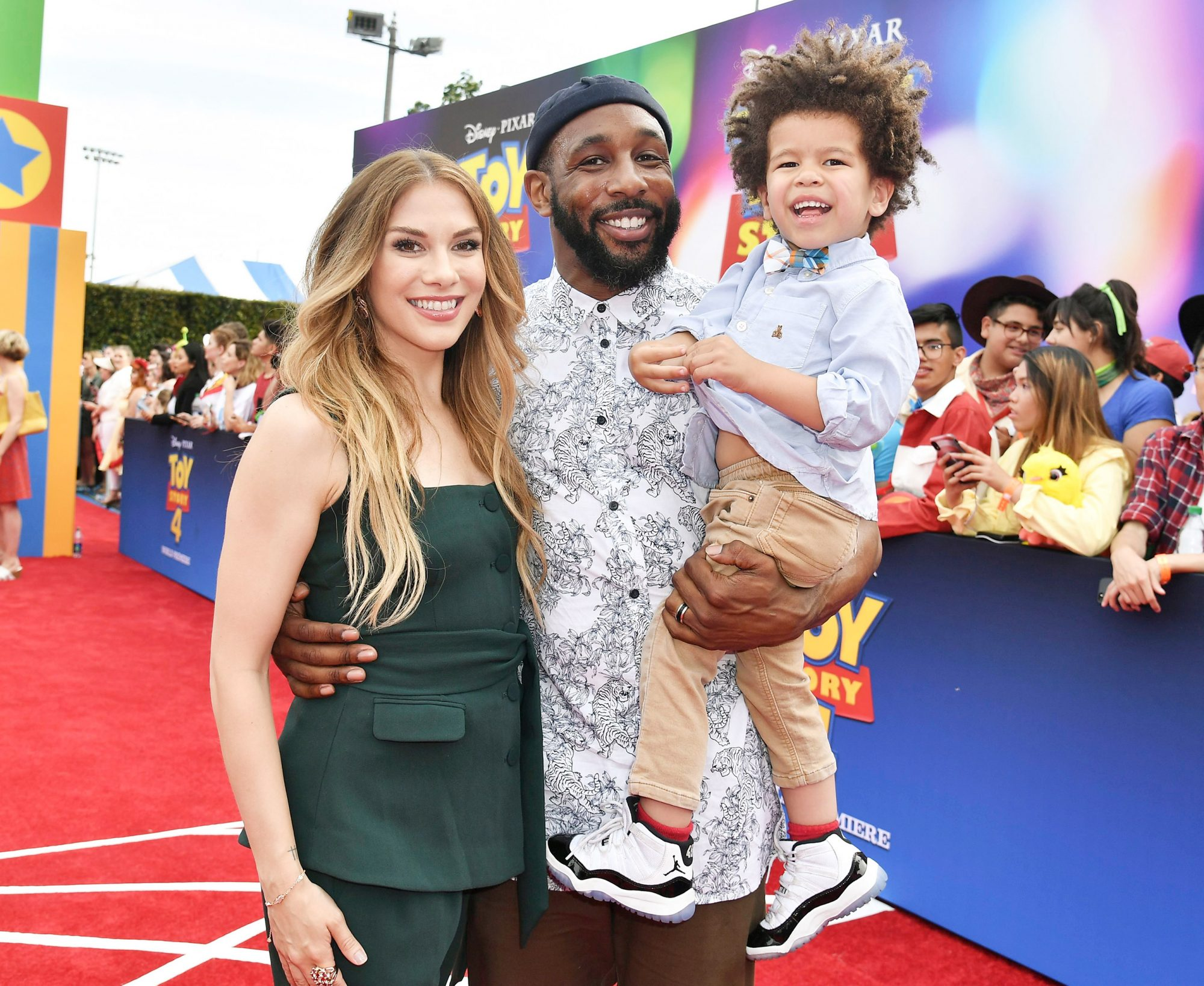 Allison Holker, Stephen 'tWitch' Boss and Maddox Boss