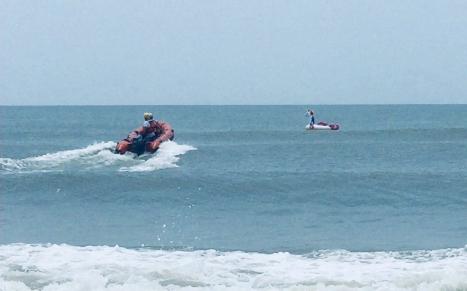 8-year-old rescued at sea on inflatable unicorn warns 'never' go on a float in the ocean - Declan O'Connor