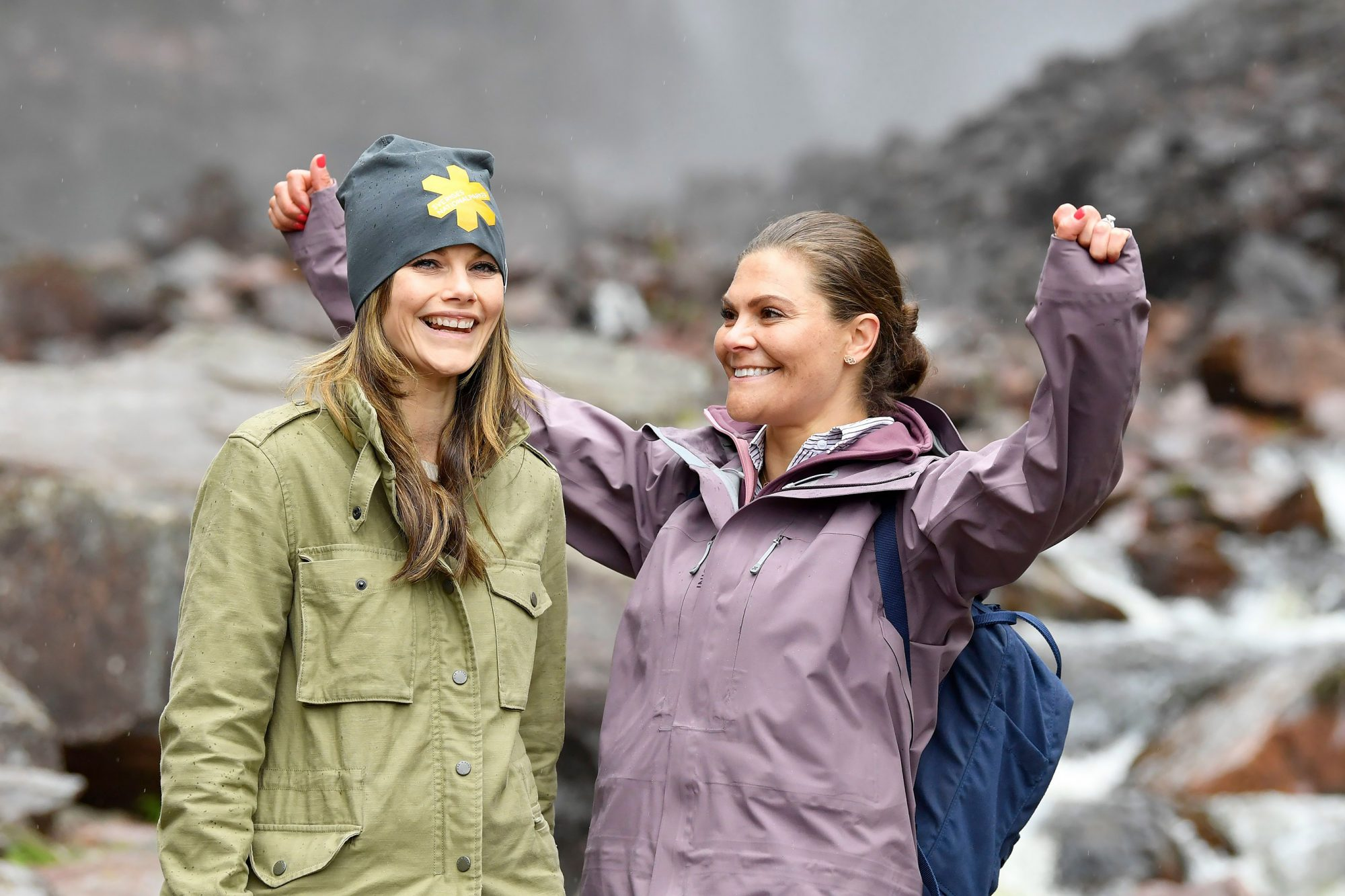 Crown Princess Victoria and Princess Sofia of Sweden