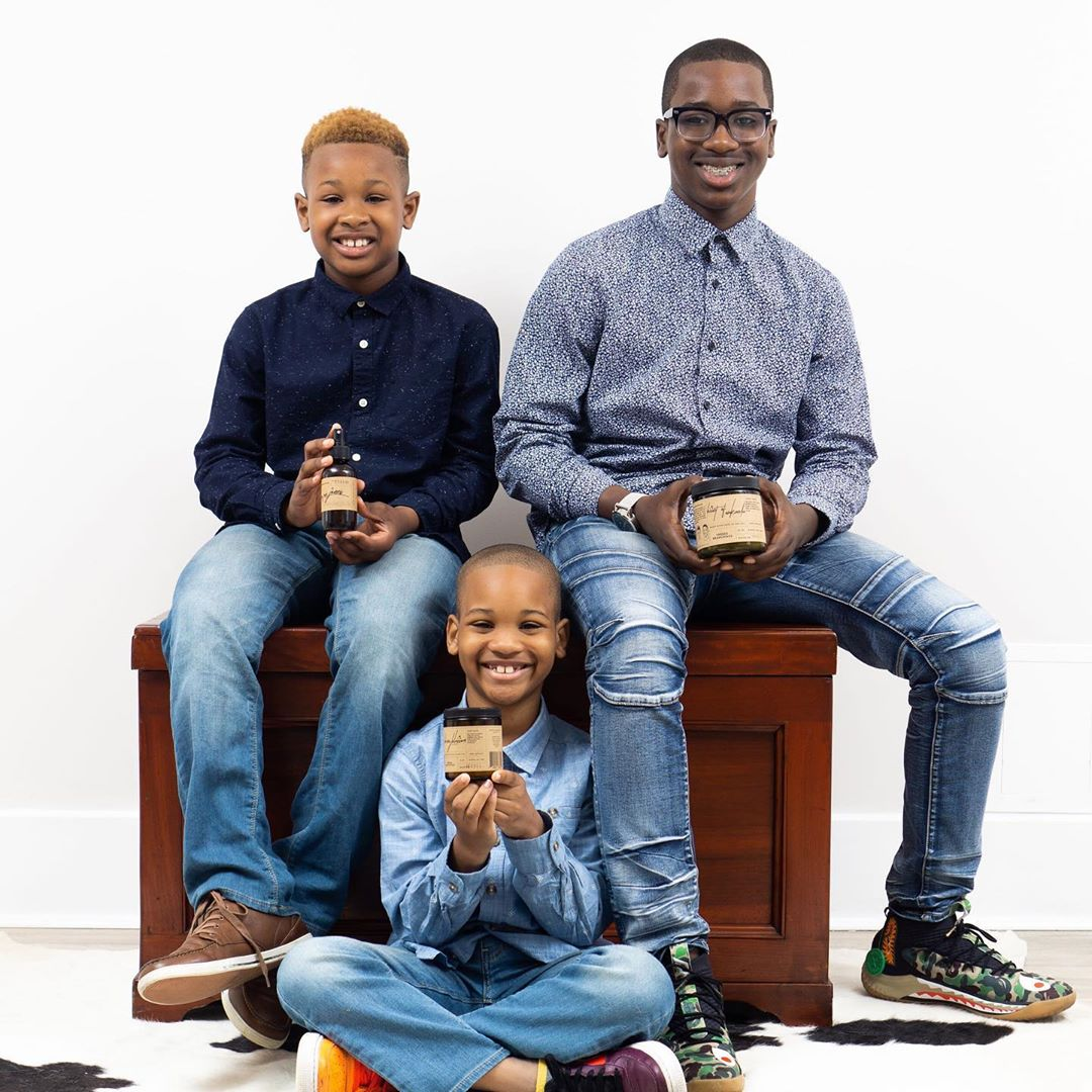 3 brothers with a candle company