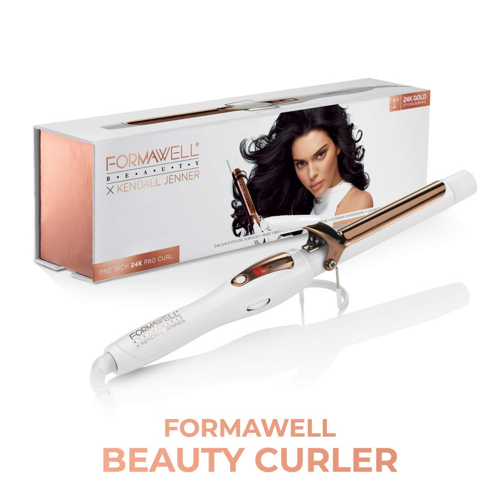 Formawell Beauty x Kendall Jenner One Inch Curler on Amazon Prime Day