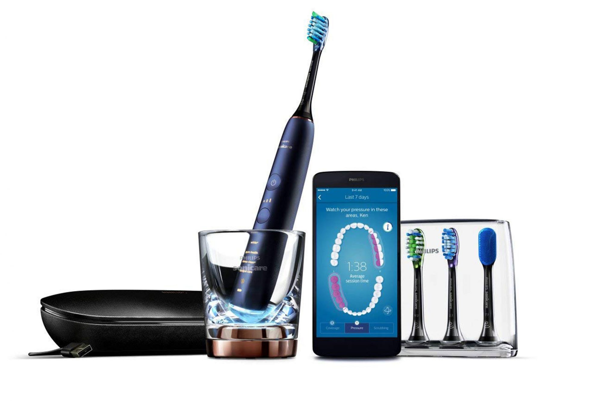 Philips Sonicare DiamondClean Smart Electric, Rechargeable Toothbrush on Amazon Prime Day