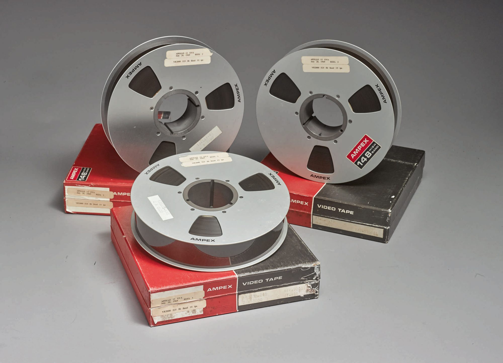 Sotheby's The Best Surviving NASA Videotape Recordings Of the Apollo 11 Moon Landing