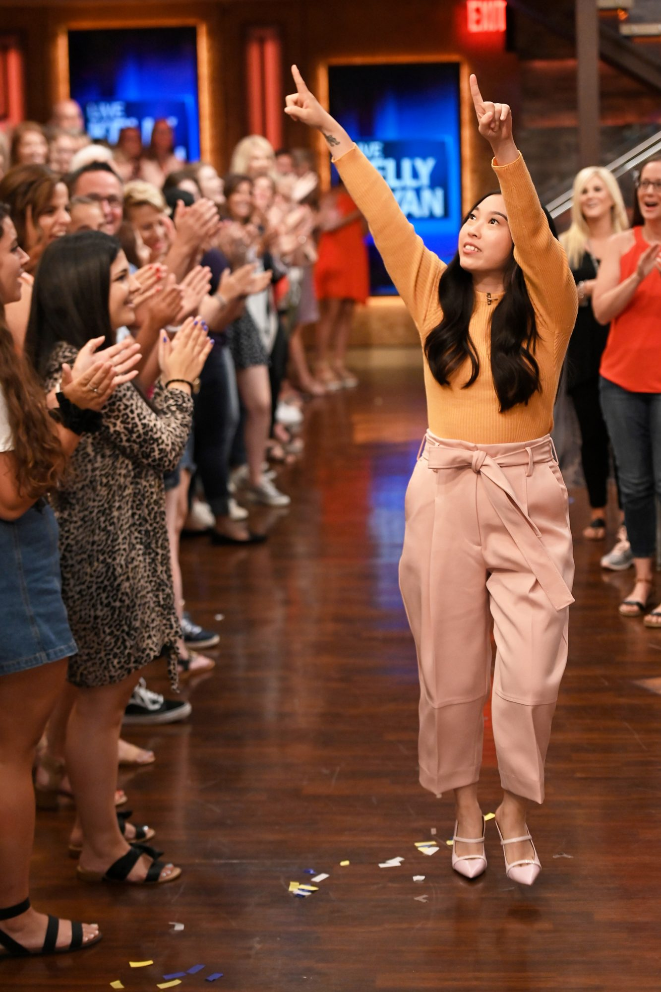Awkwafina Live with Kelly and Ryan