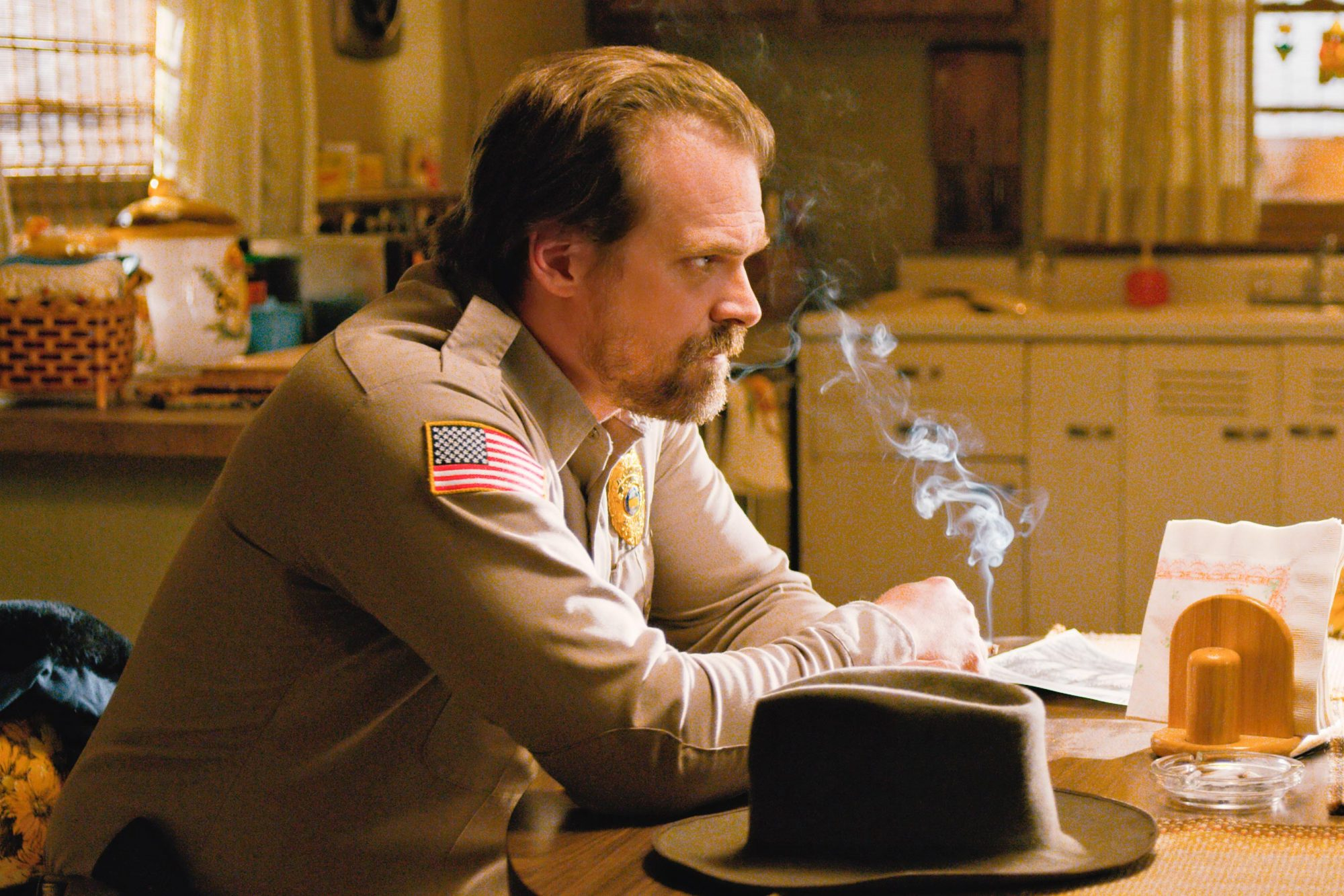 Stranger Things 2 Season 2 David Harbour as Jim Hopper CR: Netflix