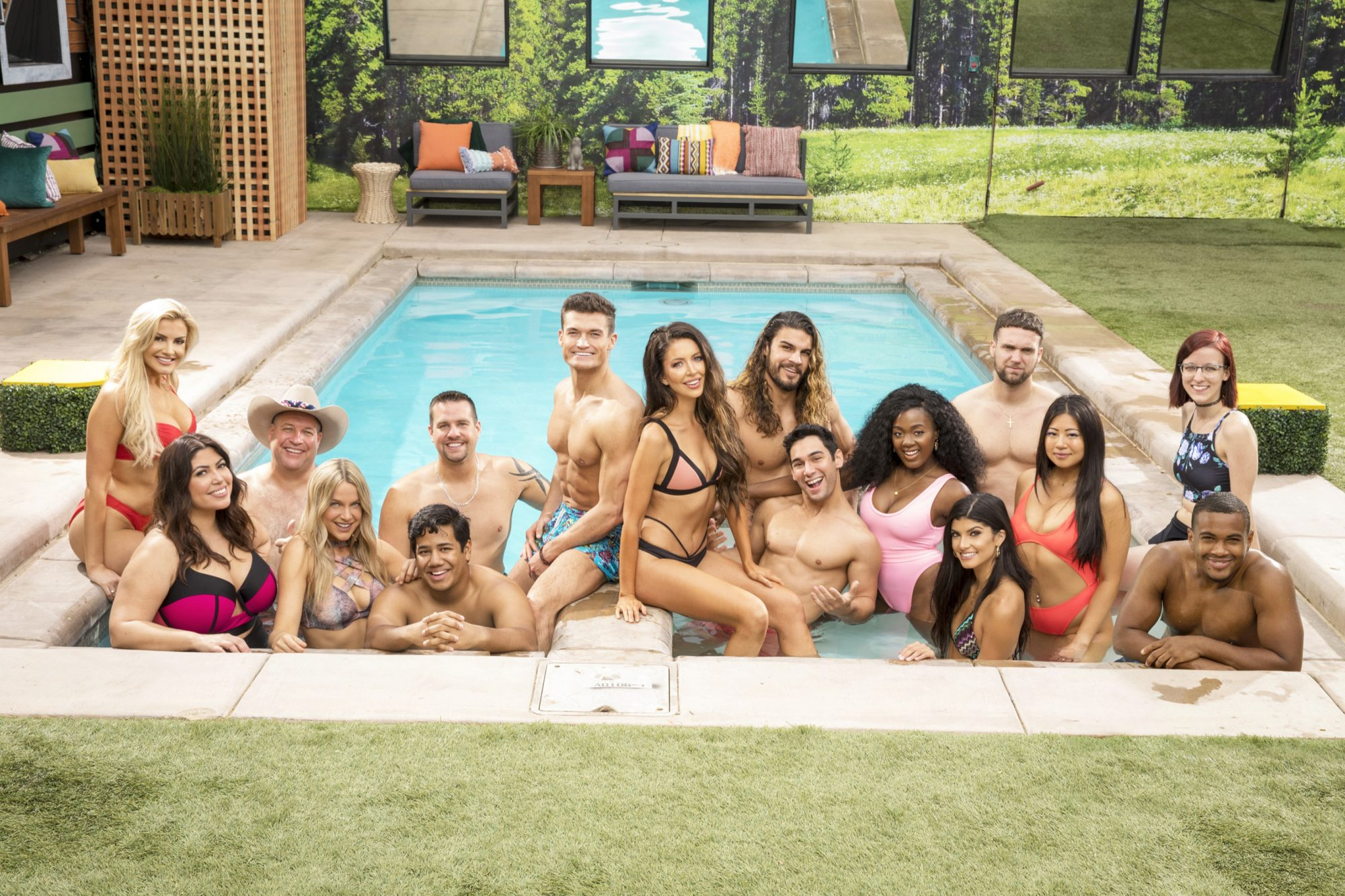 LOS ANGELES - JUNE 22: Houseguest of Big Brother 21 --L-R : Jessica Milagros, Christie Murphy, Ovi Kabir,Analyse Talvera, David, Alexander; L-R second row: Kathryn Dunn, Cliff Hogg, Sam Smith, Jackson Michie, Holly Alexander,Jack Matthews, Tommy Bracco, Kemi Fakunle, Nick Macaroni, Isabella Wang, Nicole Anthony. BIG BROTHER's two-night premiere event airing Tuesday, June 25 and Wednesday, June 26 (8:00 Ð 9:00 PM, ET/PT), on the CBS Television Network. Following the two-night premiere, BIG BROTHER will be broadcast Sunday, June 30 (8:00-9:00 PM, ET/PT) and Tuesday, July 2 (8:00-9:00 PM, ET/PT). The first live eviction airs Wednesday, July 3. As of Wednesday, July 10, the show moves to its regular schedule of Wednesdays (9:00-10:00 PM, ET/PT), Thursdays, featuring the live evictions (9:00-10:00 PM, LIVE ET/Delayed PT) and Sundays (8:00-9:00 PM, ET/PT). (Photo by Monty Brinton/CBS via Getty Images)