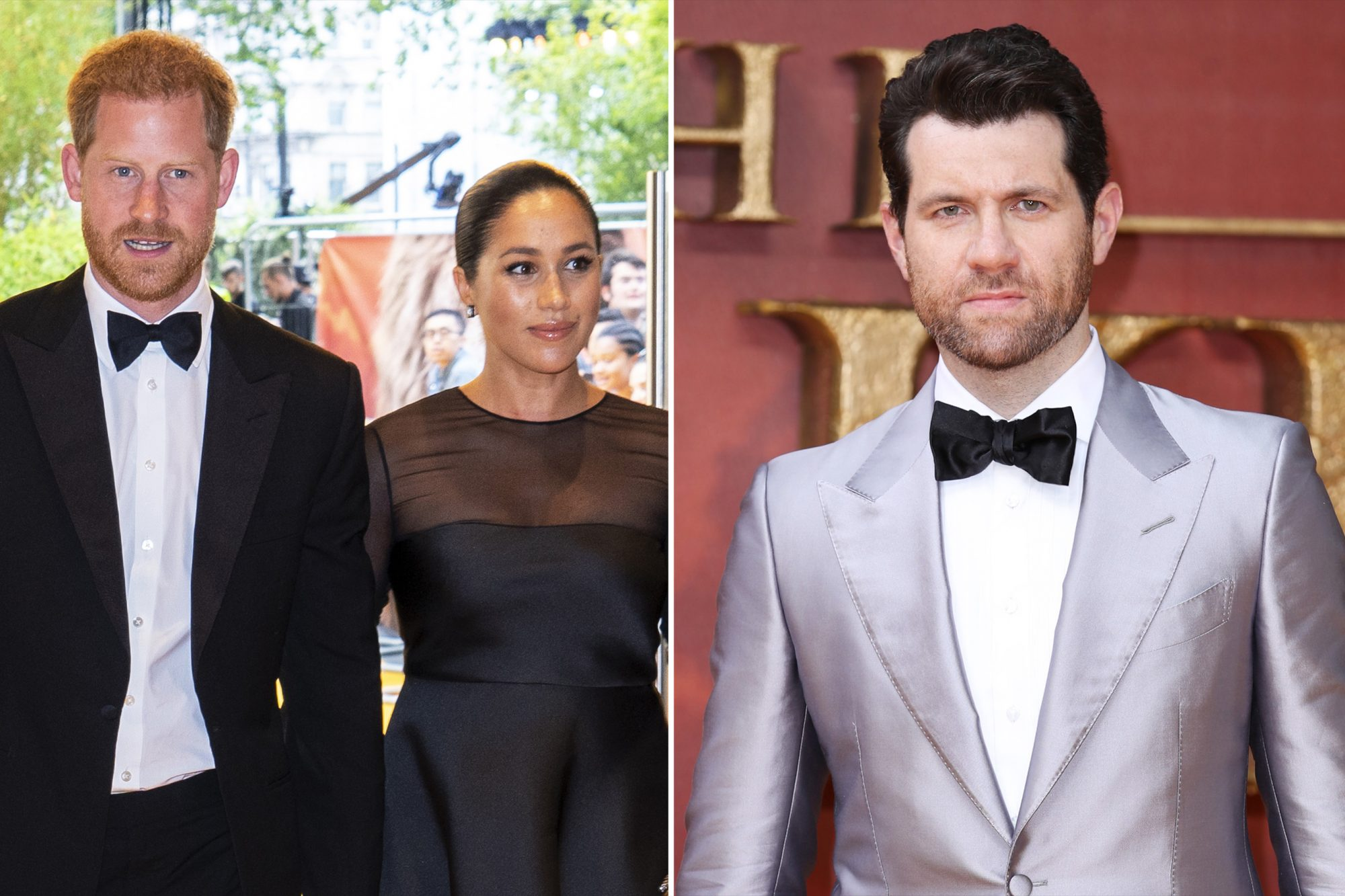 Prince Harry, Duke of Sussex and Meghan, Duchess of Sussex Billy Eichner