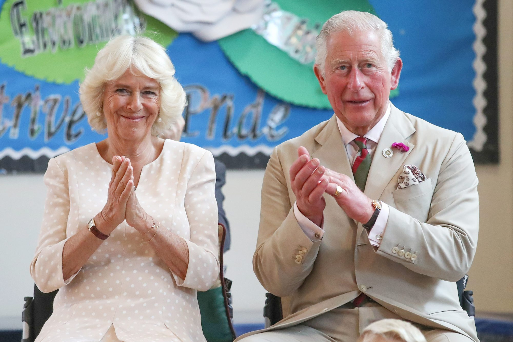 Prince Charles, The Prince of Wales and Camilla, the Duchess of Cornwall