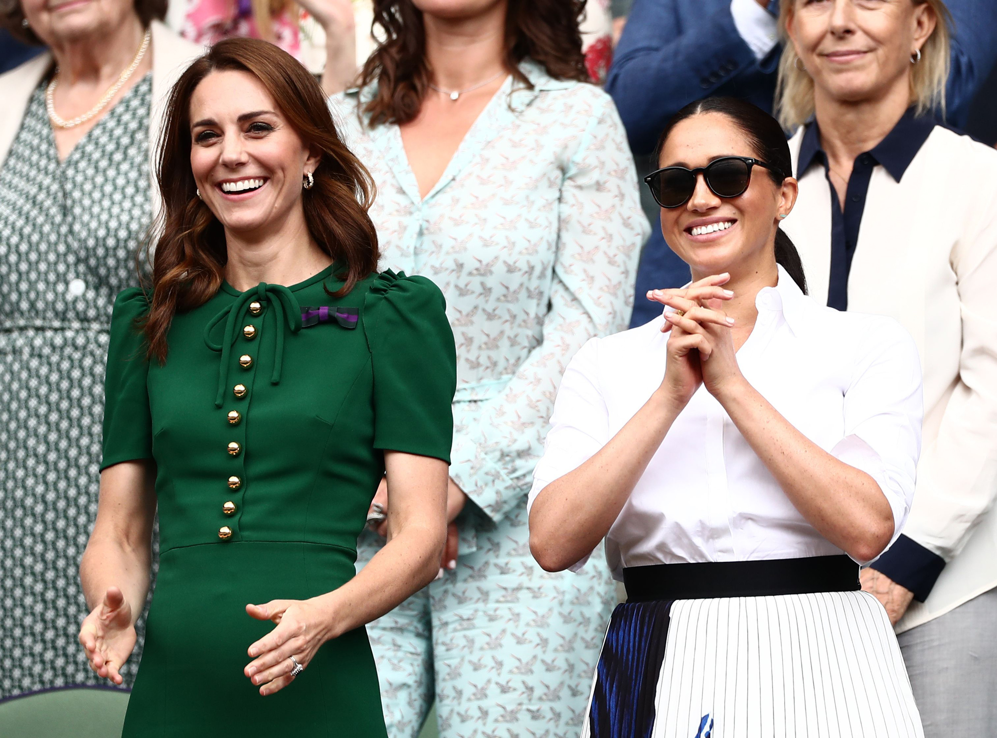 Catherine Duchess of Cambridge and Meghan Duchess of Sussex