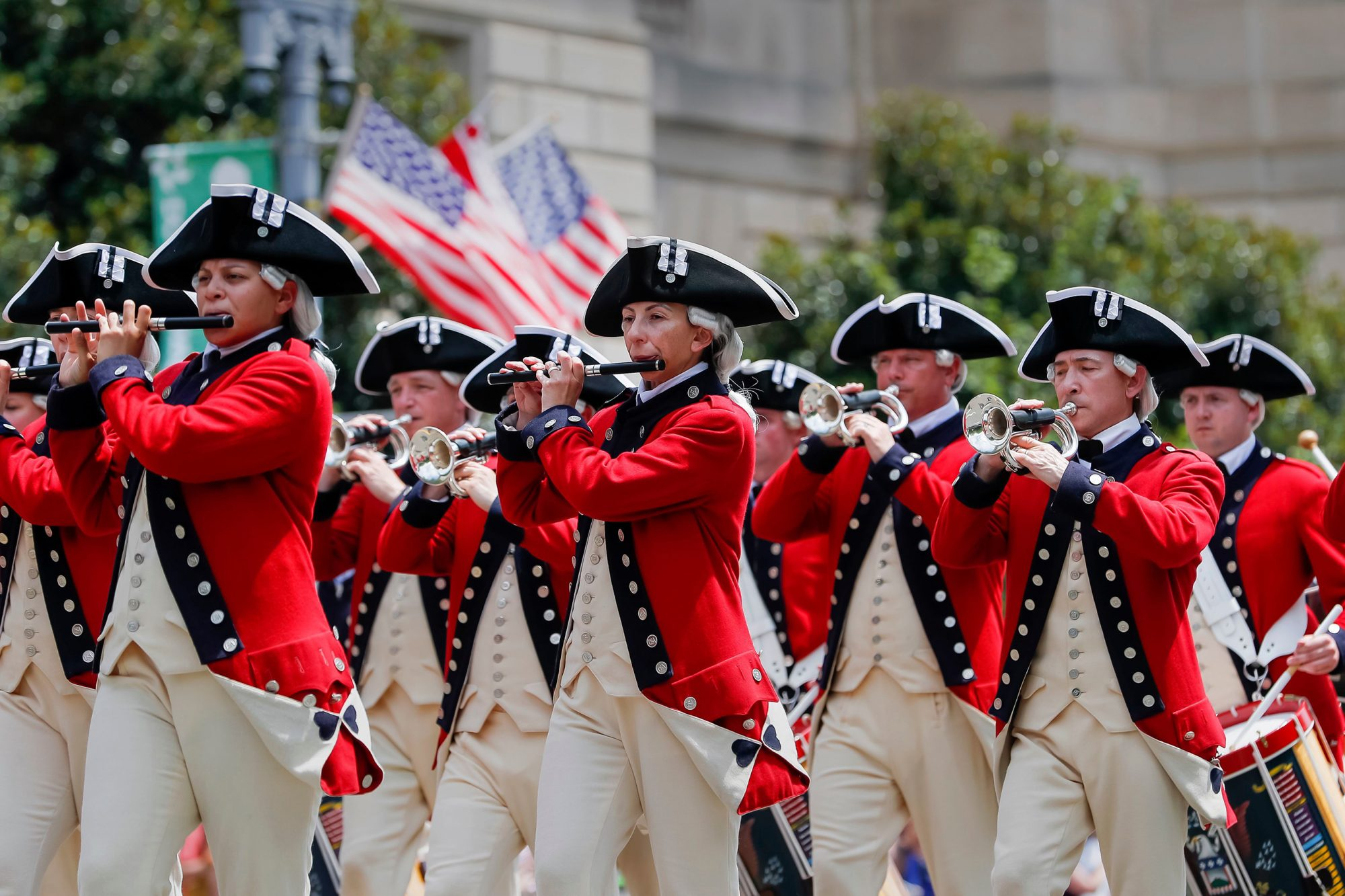 Fourth of July festivities on July 4, 2019 in Washington, DC