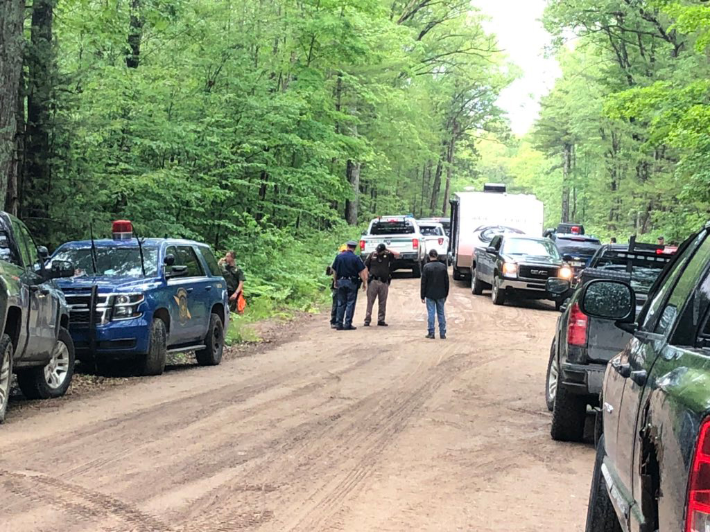 MSP, the Oscoda County Sheriff's Office, and the DNR are mounting a search for 2-year-old Gabrielle Vitale. She wandered from her camp site on Reber Rd west of M-33 this morning, and hasn't been seen since. Anyone with info should contact police ASAP.