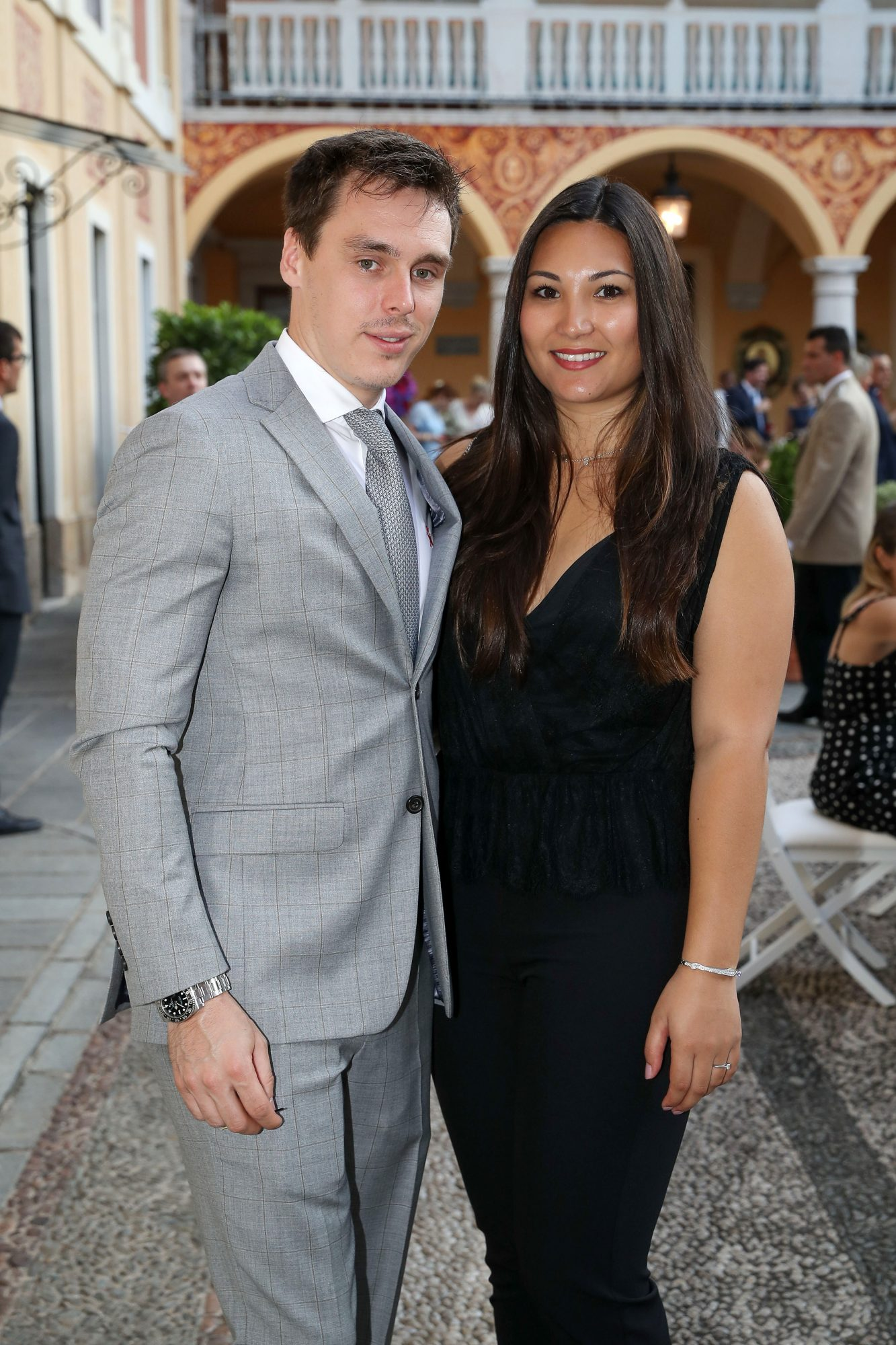 Louis Ducruet and Marie Chevalier
