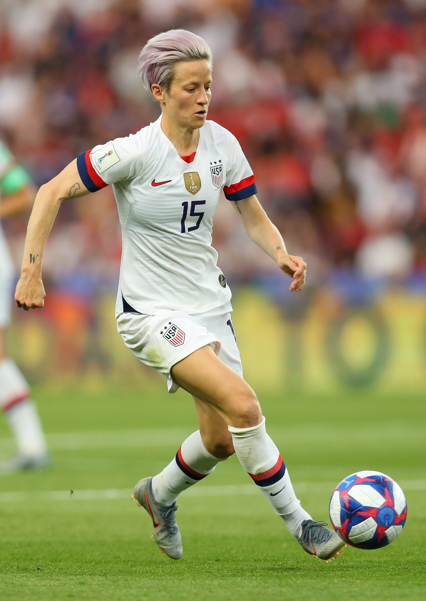 Megan Rapinoe during World Cup