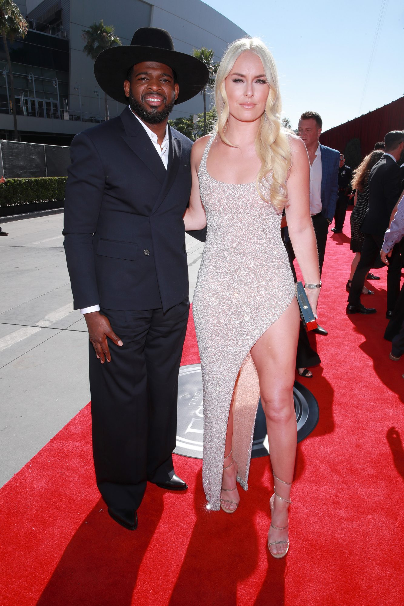 P.K. Subban and Lindsey Vonn