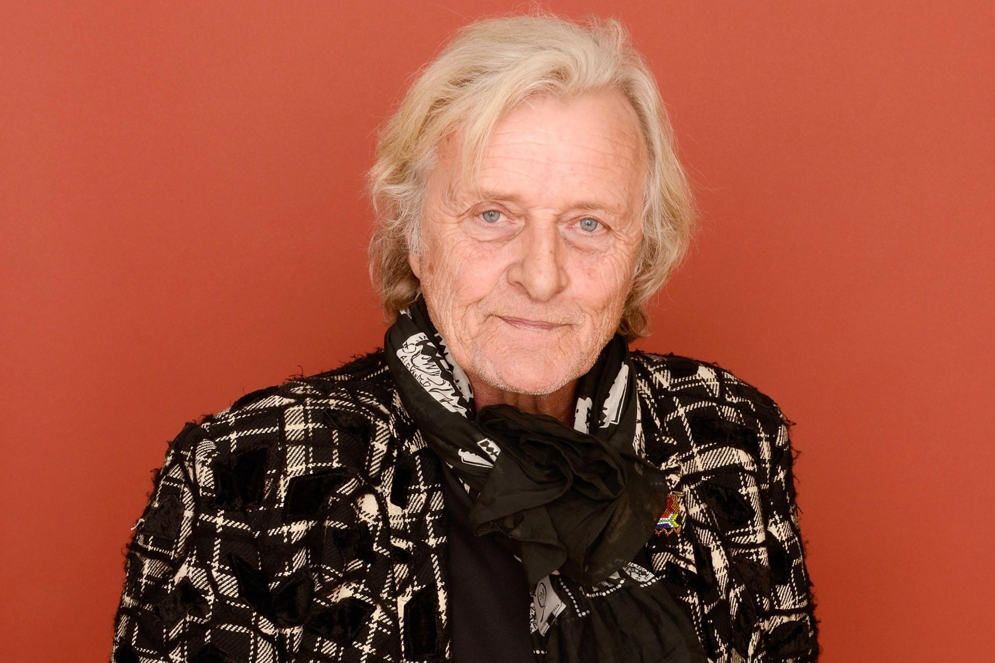 Actor Rutger Hauer poses for a portrait during the 2013 Sundance Film Festival at the Getty Images Portrait Studio at Village at the Lift on January 19, 2013 in Park City, Utah. (Photo by Larry Busacca/Getty Images)