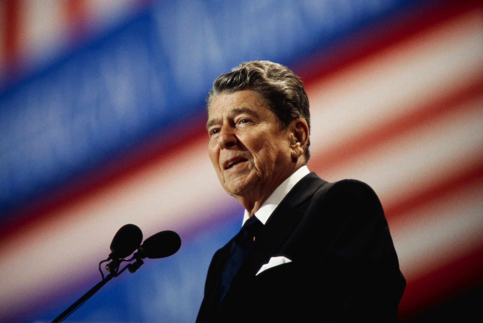Ronald Reagan Speaking at the Republican National Convention
