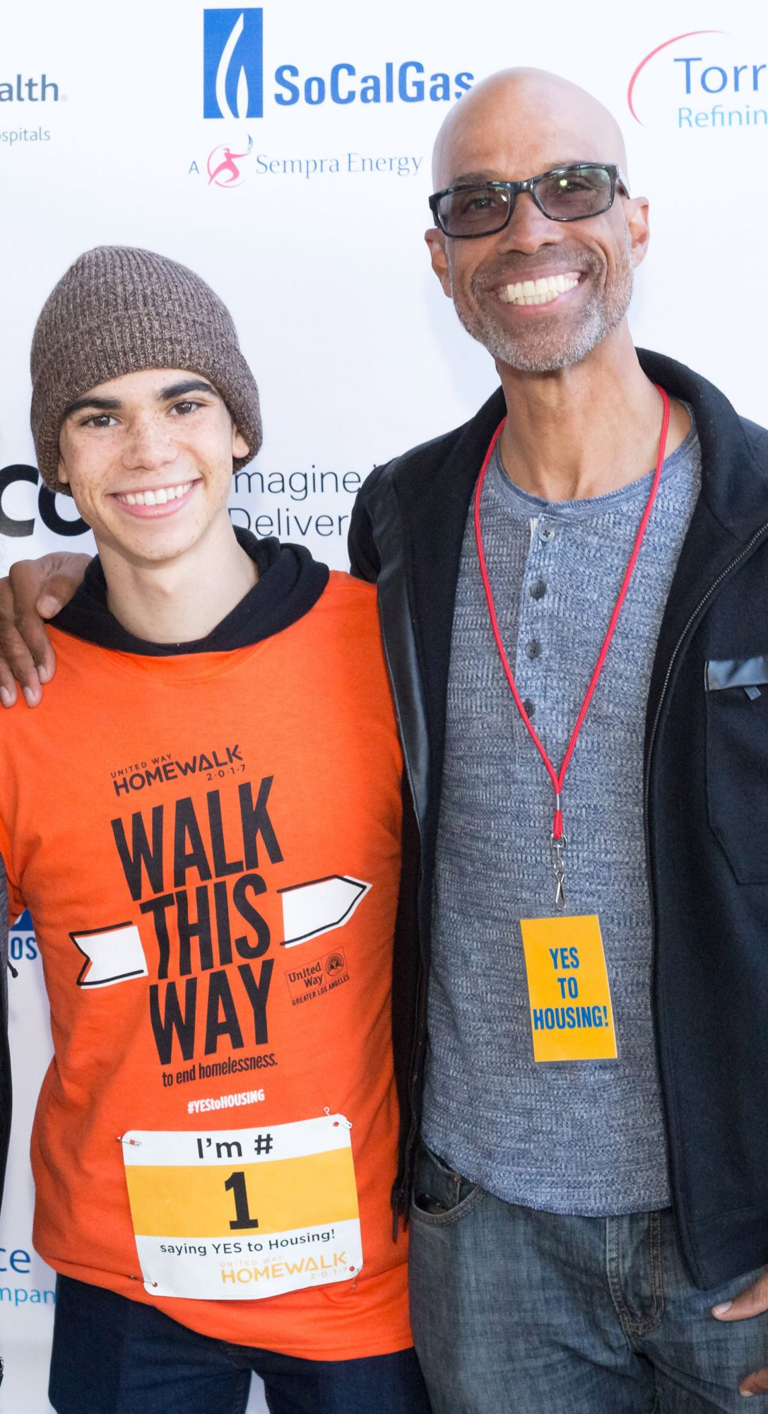 Cameron Boyce, and Victor Boyce