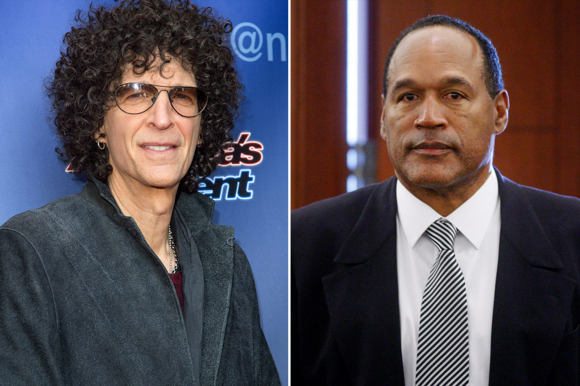 Howard Stern, O.J. Simpson