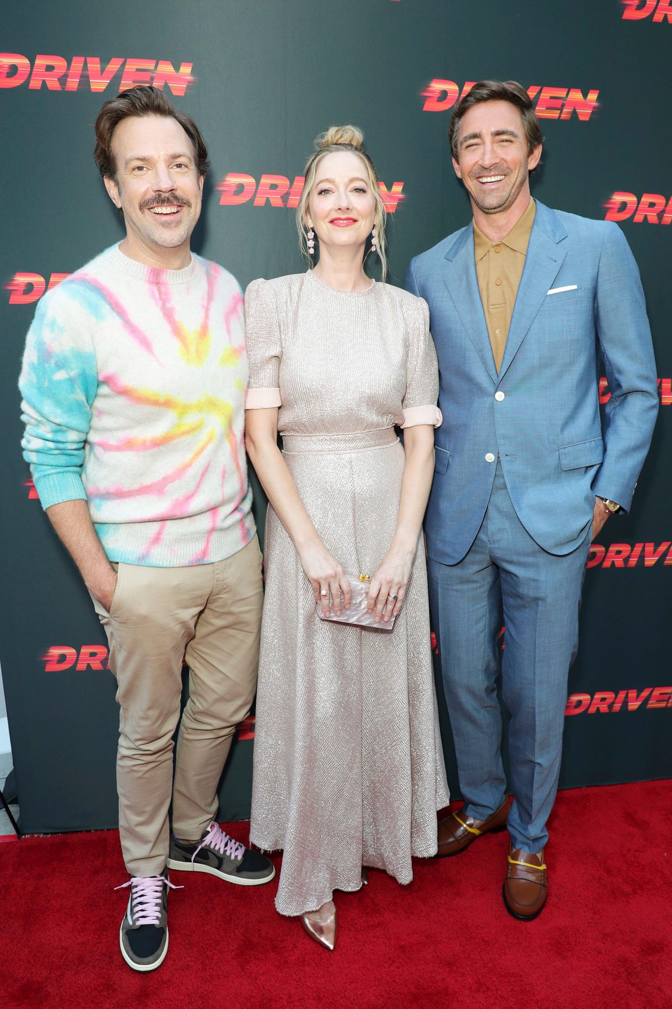 Jason Sudeikis, Judy Greer and Lee Pace