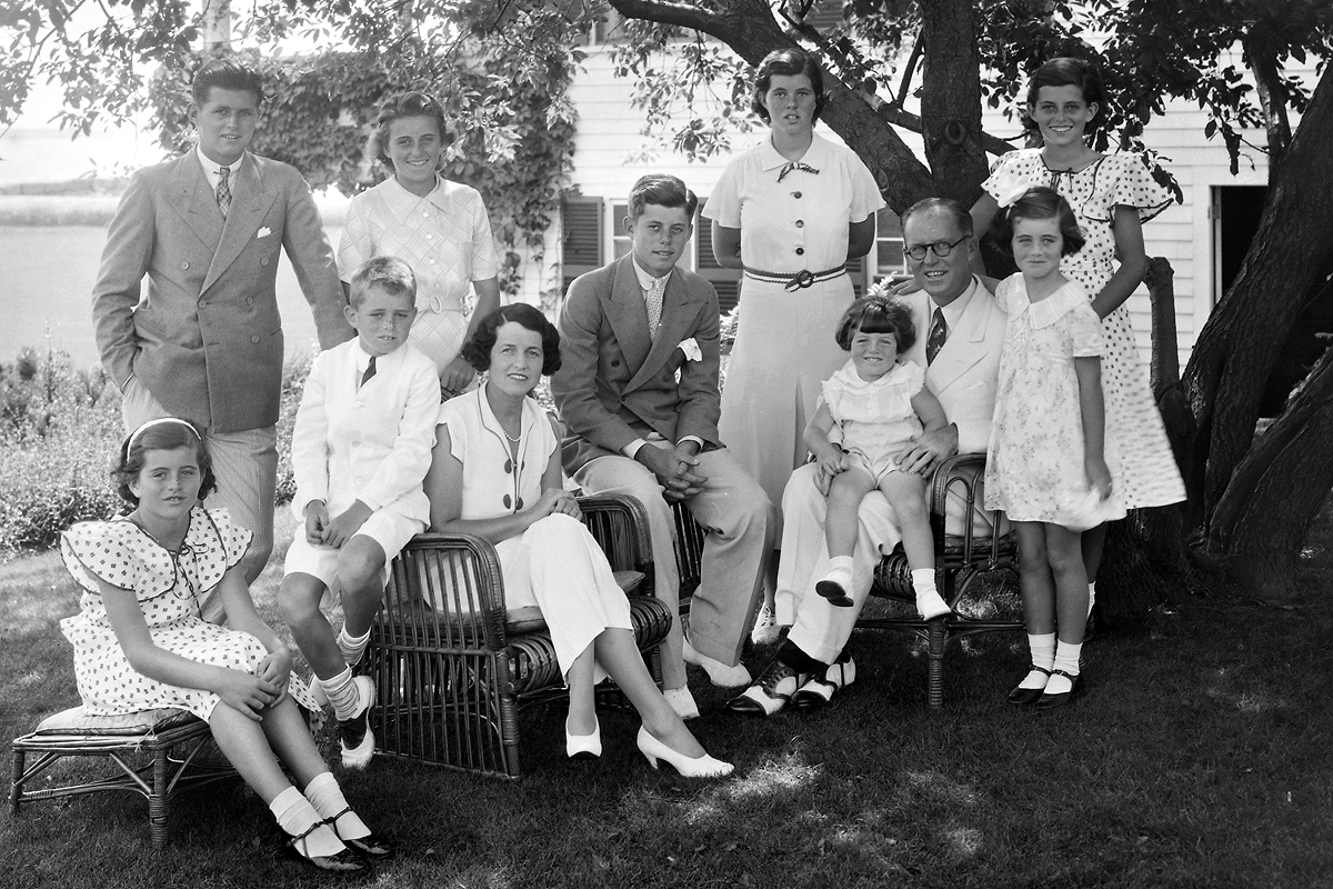 Portrait Of The Kennedy Family
