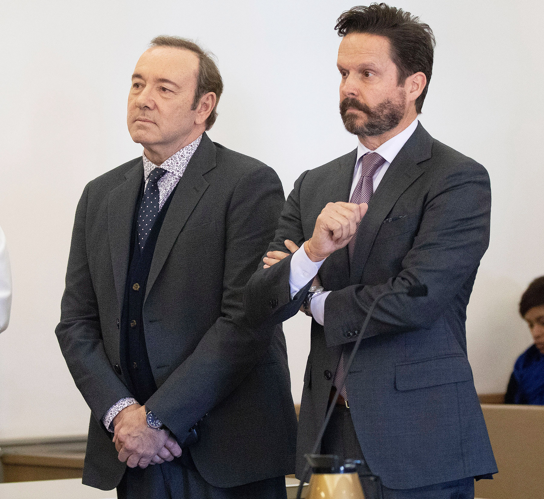 Actor Kevin Spacey at court in Nantucket, USA - 07 Jan 2019